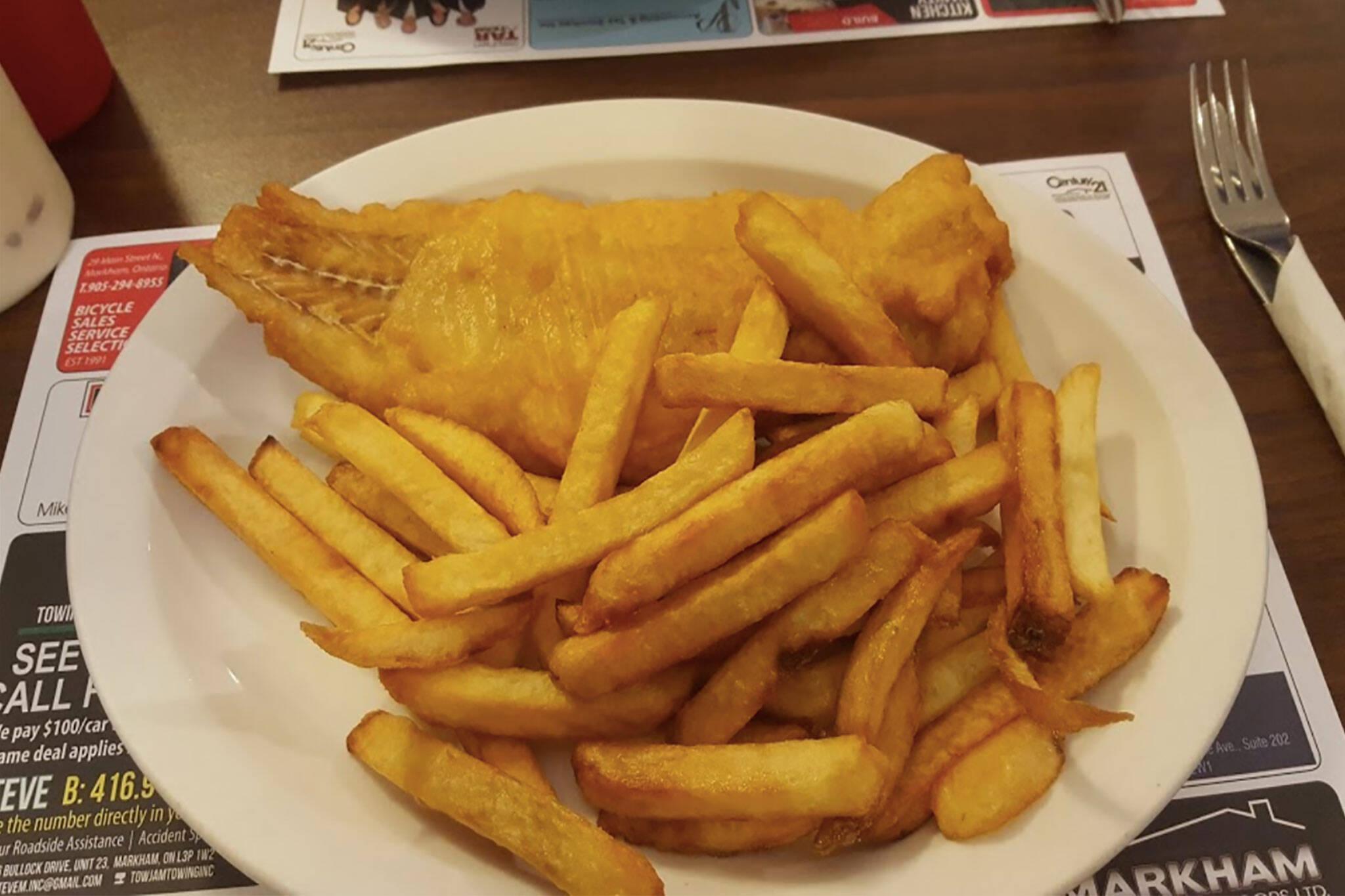dannys fish chips toronto
