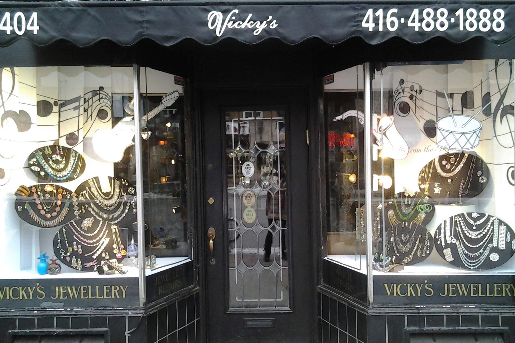 vickys jewellery toronto