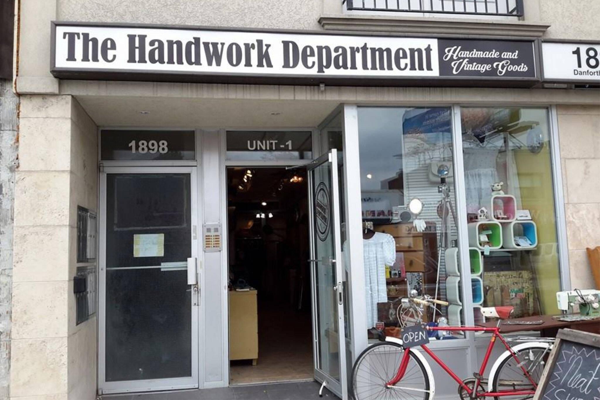 handwork department toronto