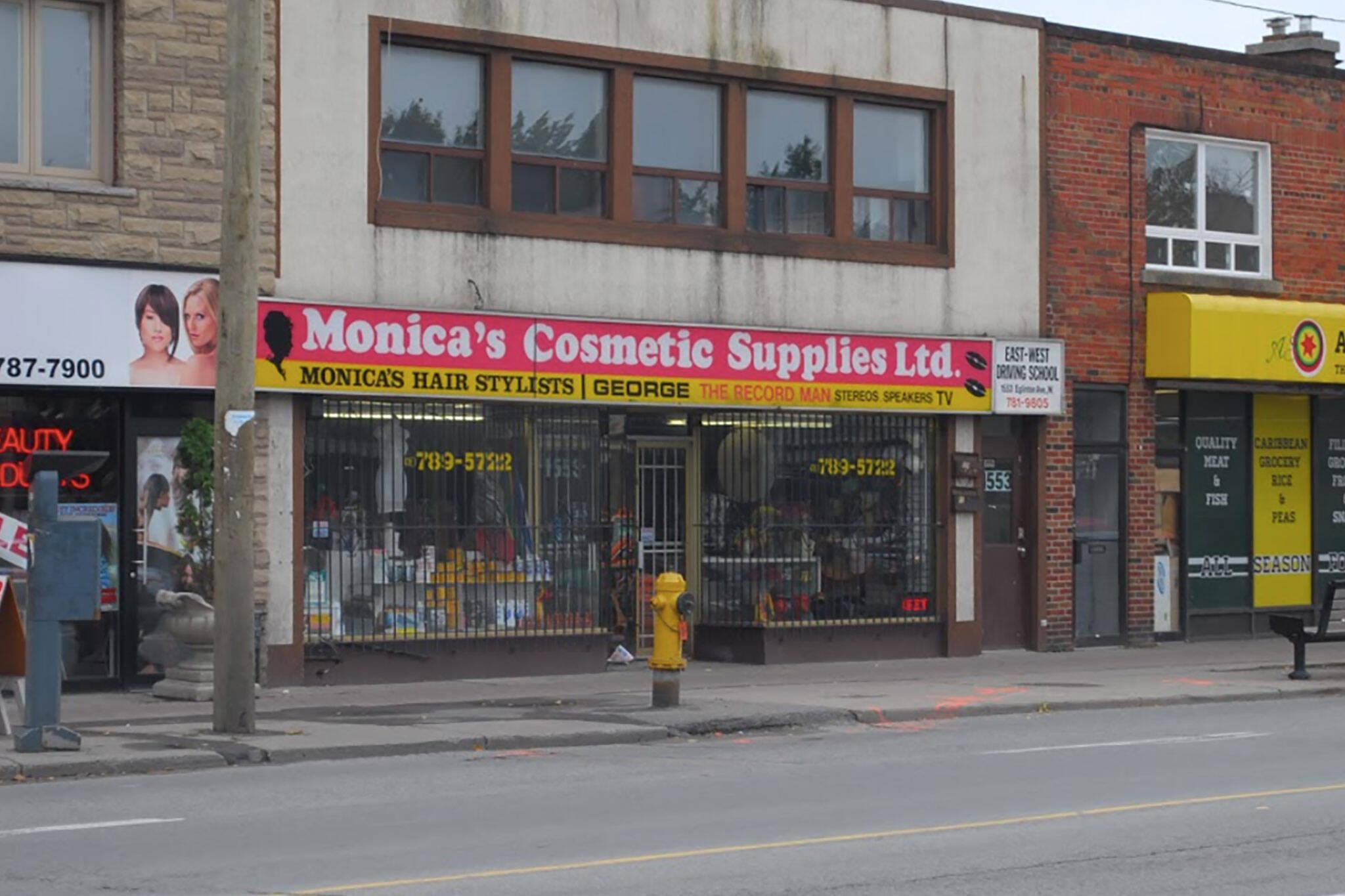 monicas beauty salon toronto