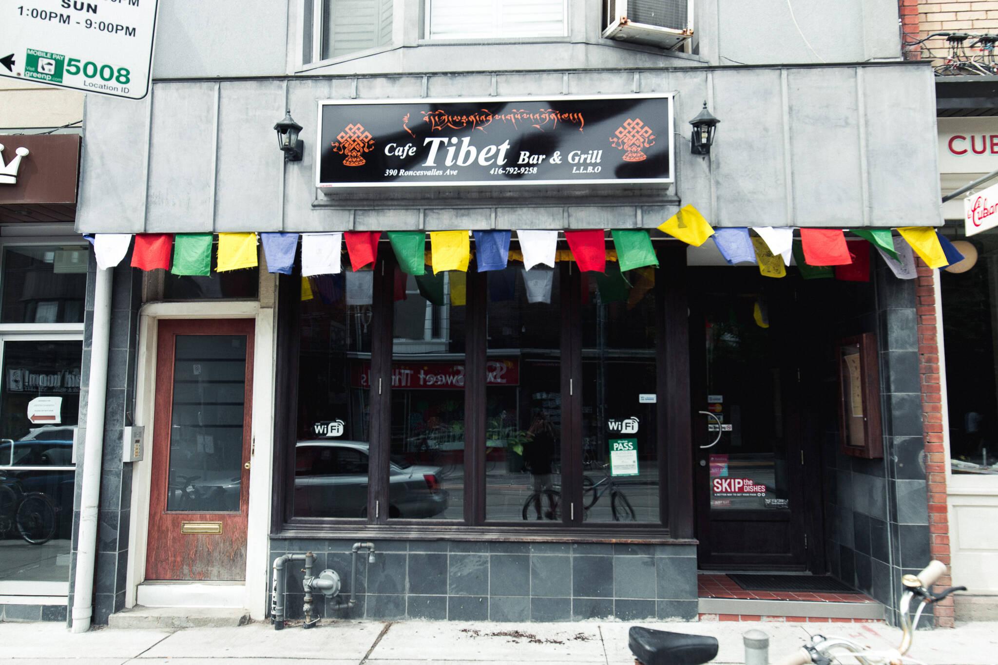 Cafe Tibet toronto