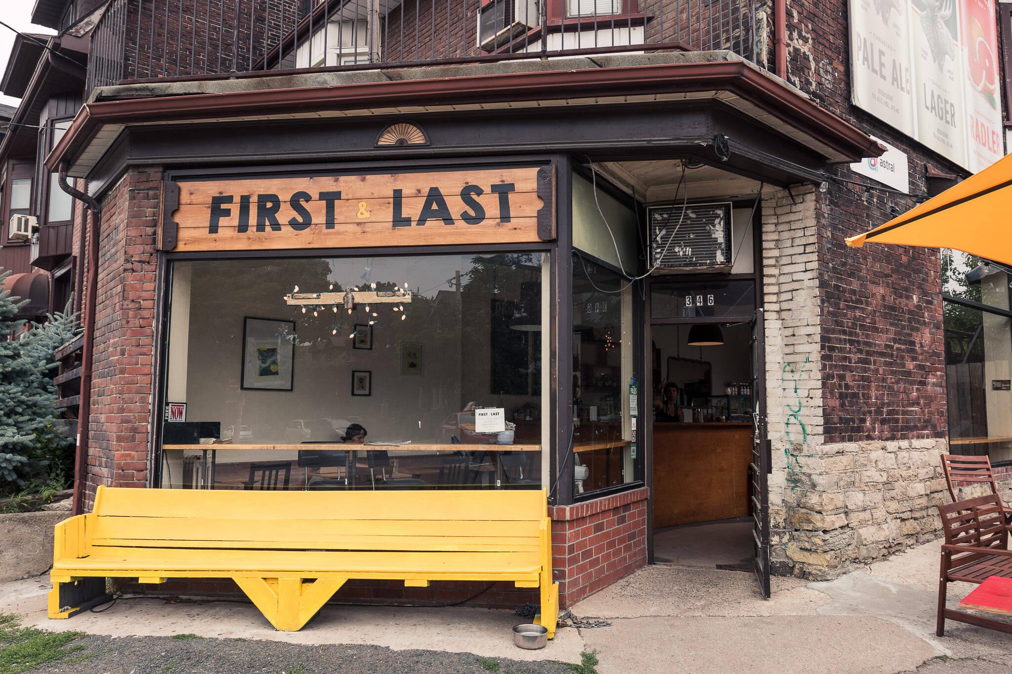 First Last coffee Toronto