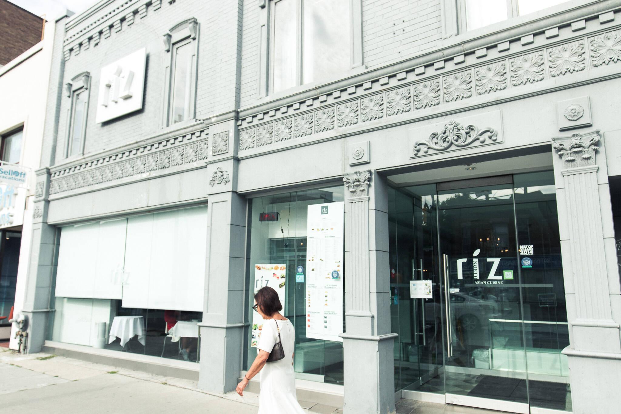 Riz on Yonge Toronto