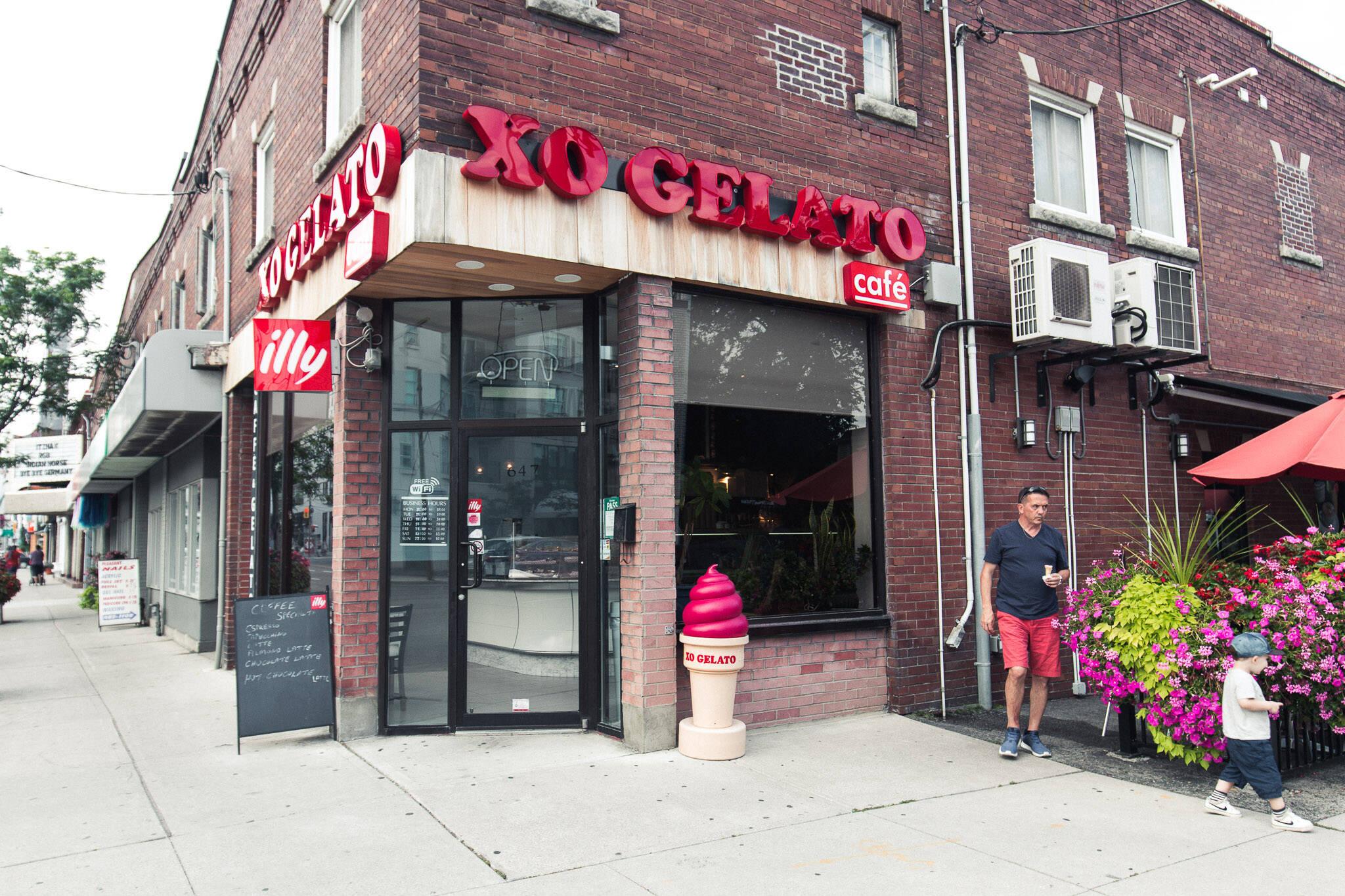 XO Gelato Toronto