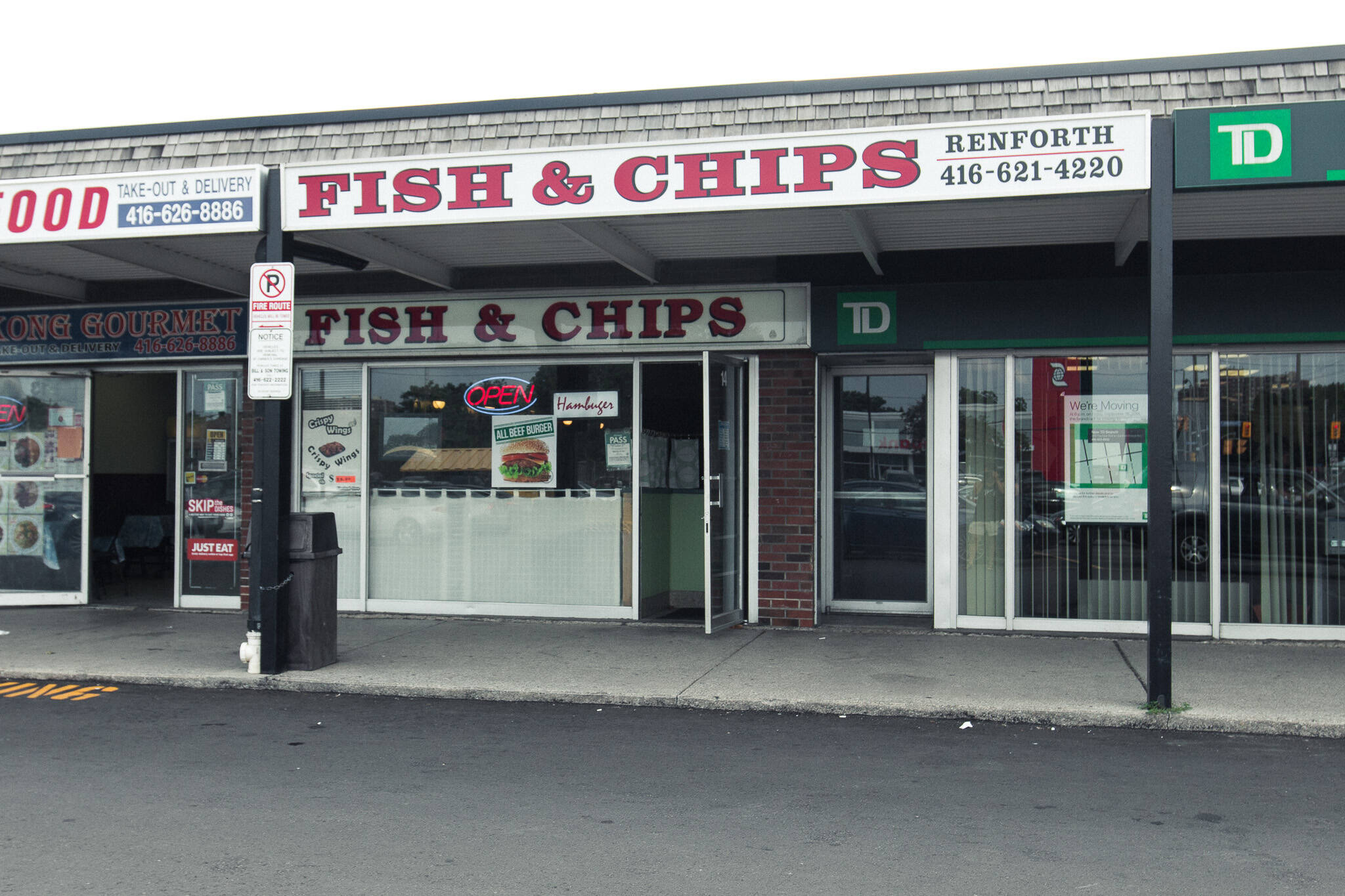 Renforth Fish Chips Toronto