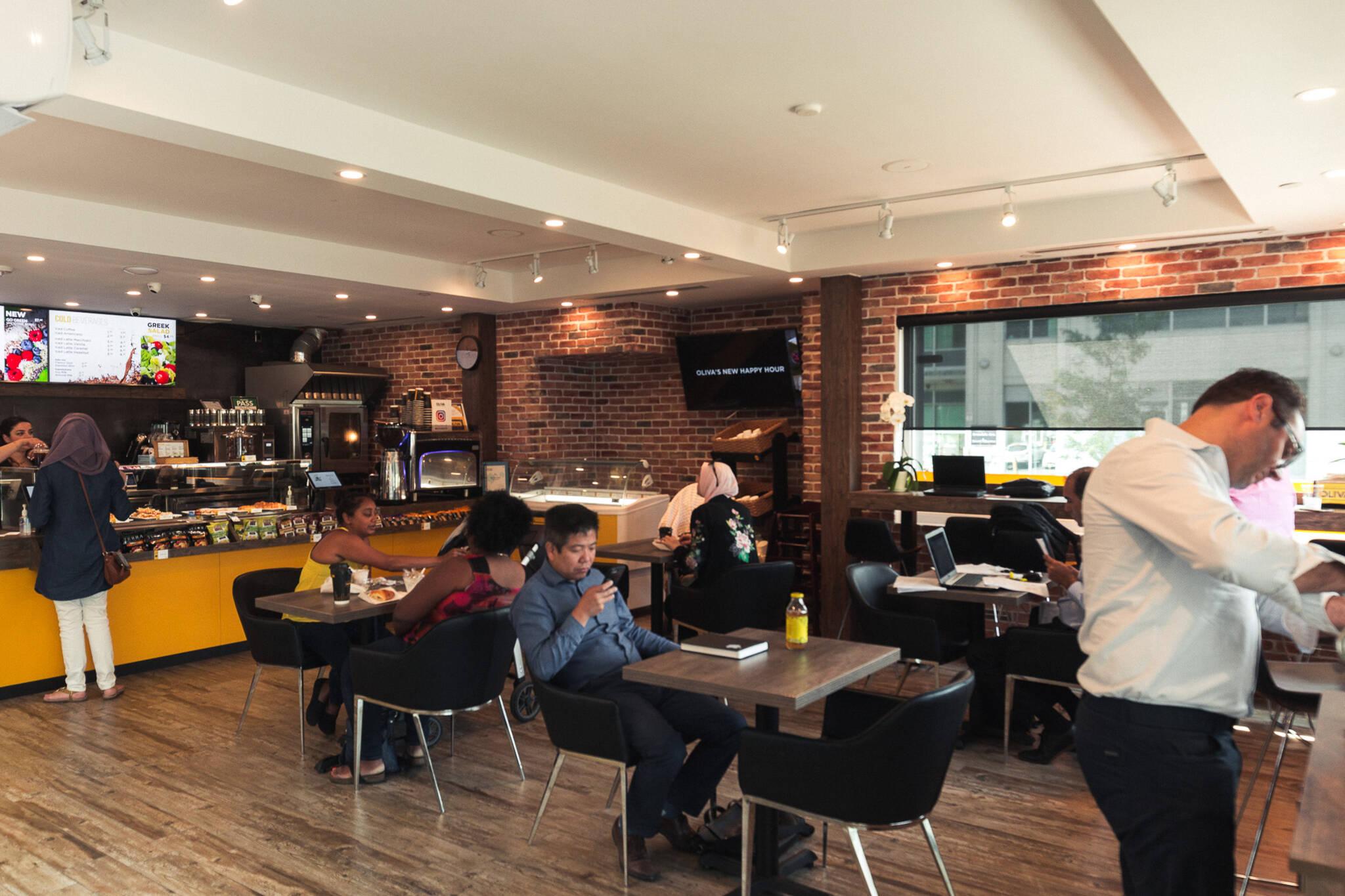 Oliva cafe Toronto