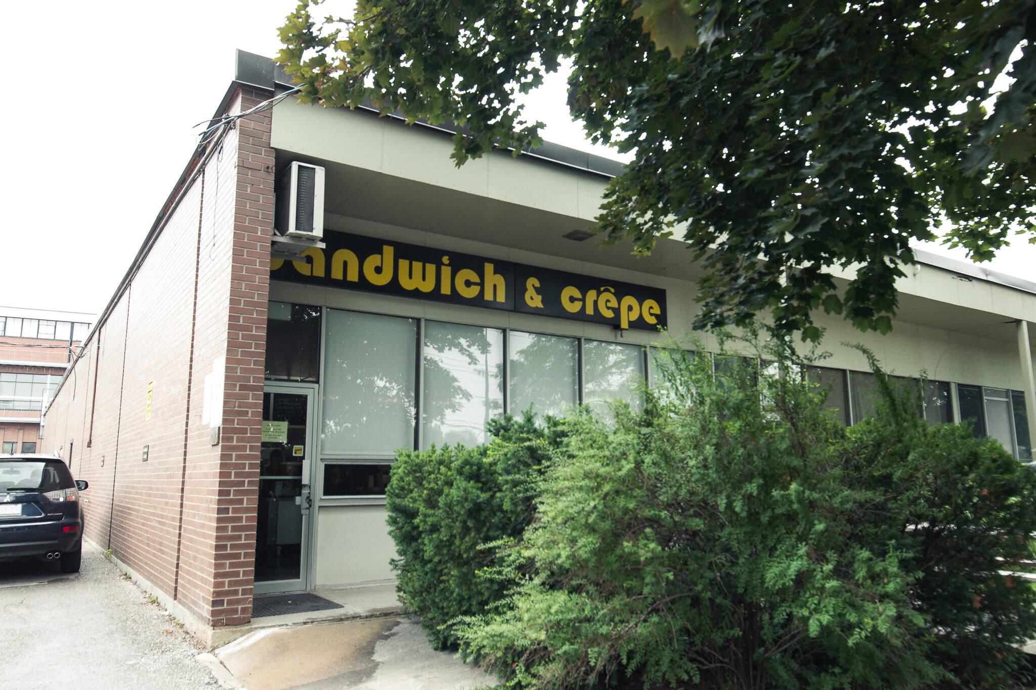Sandwich Crepe Toronto