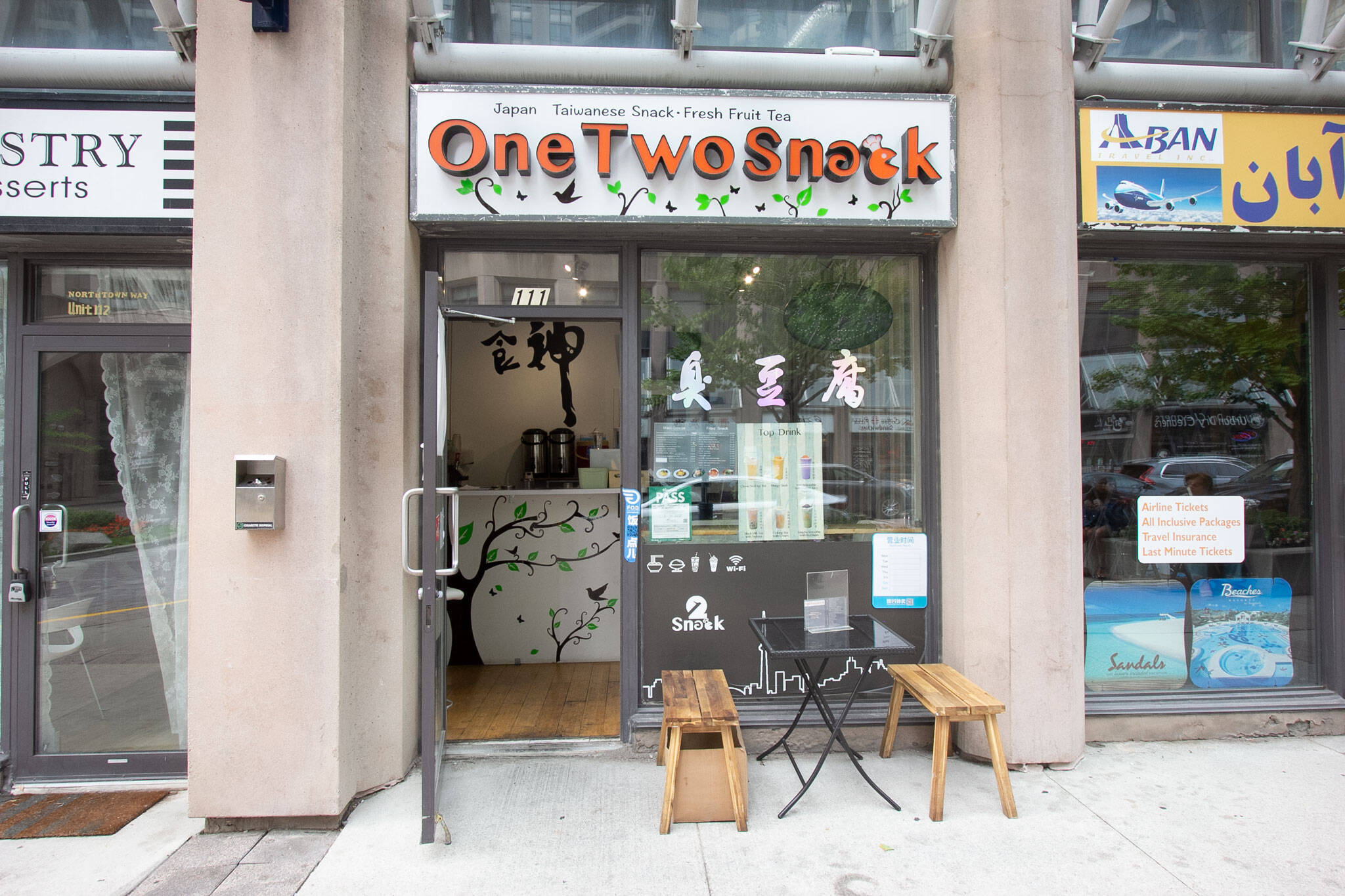 one two snack toronto