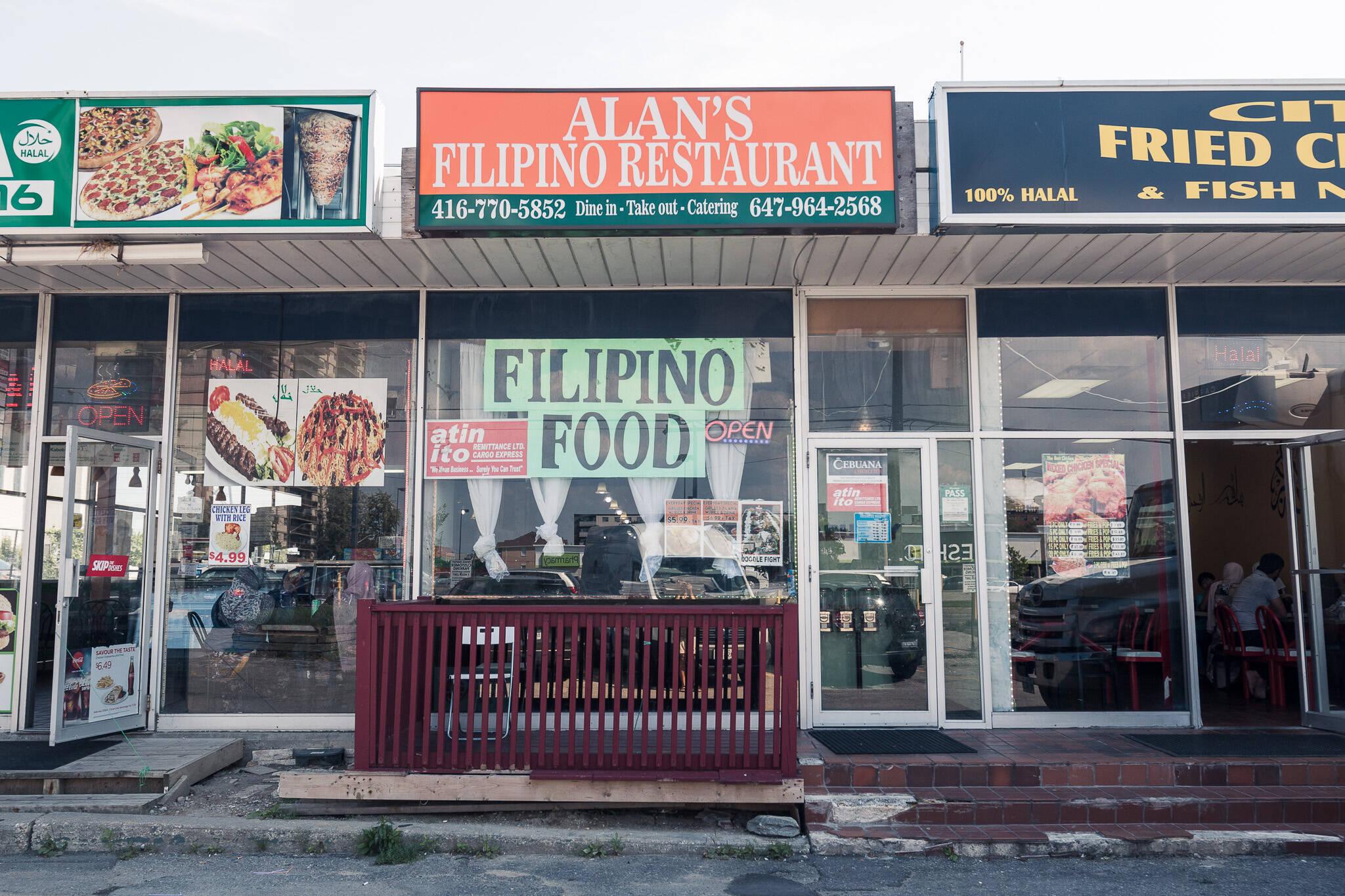 Alans Flipino Restaurant Toronto