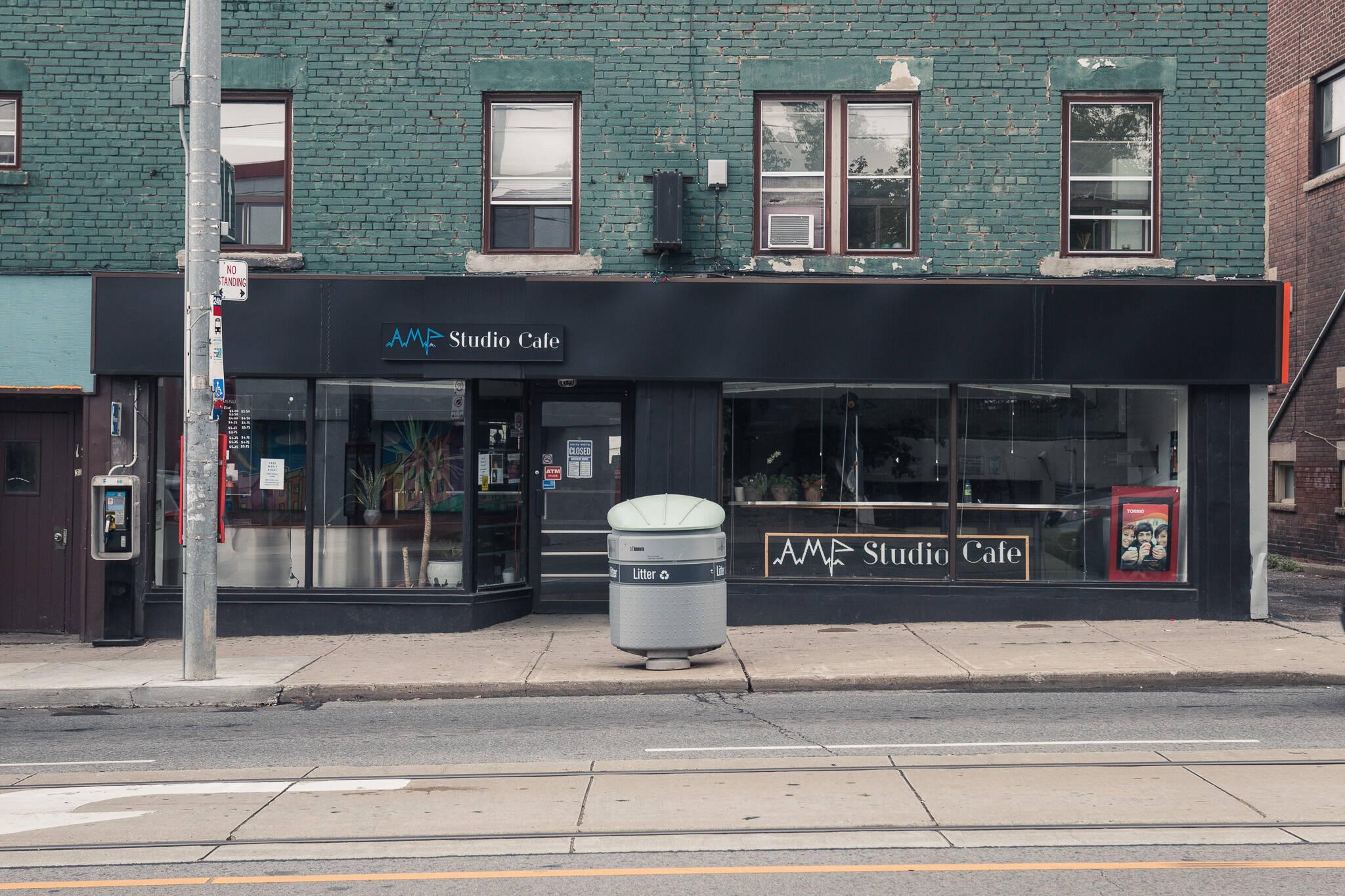 Amp Studio Cafe Toronto
