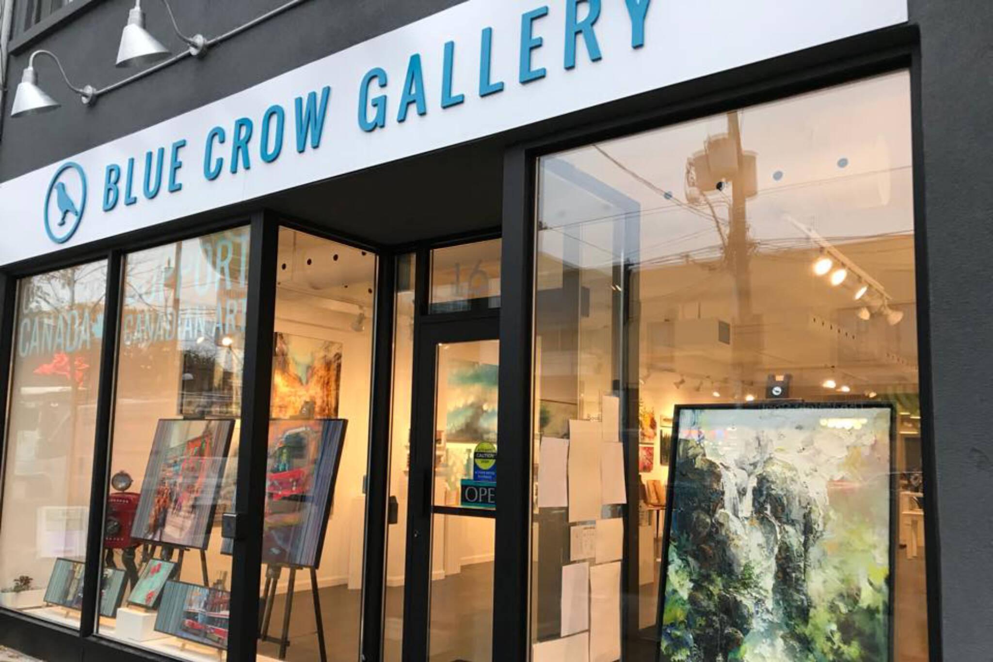 blue crow gallery toronto