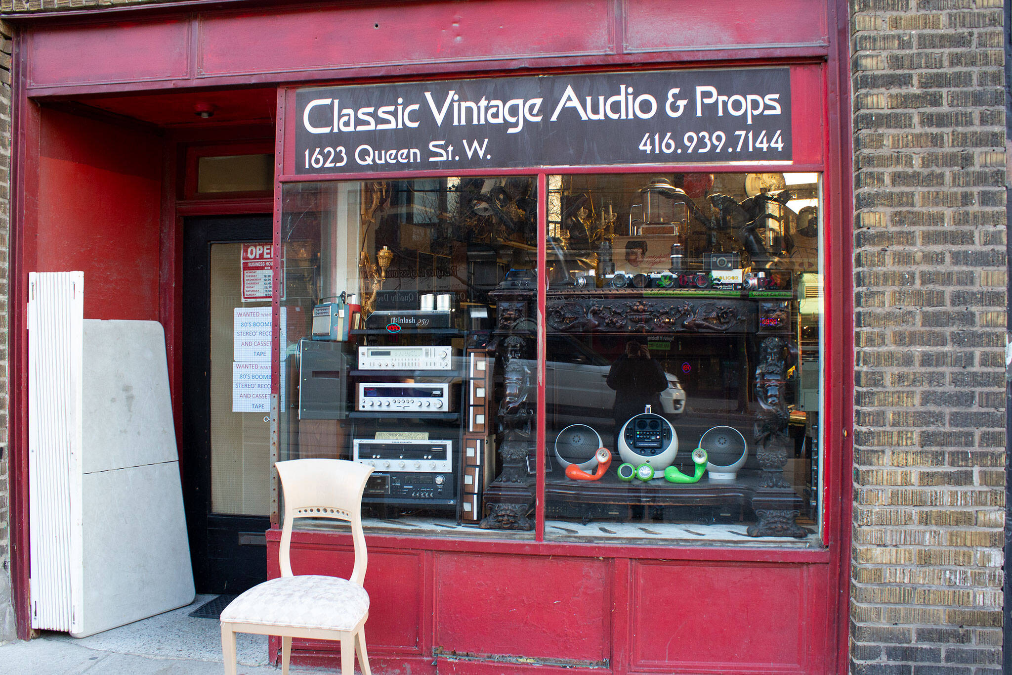 classic vintage audio props toronto