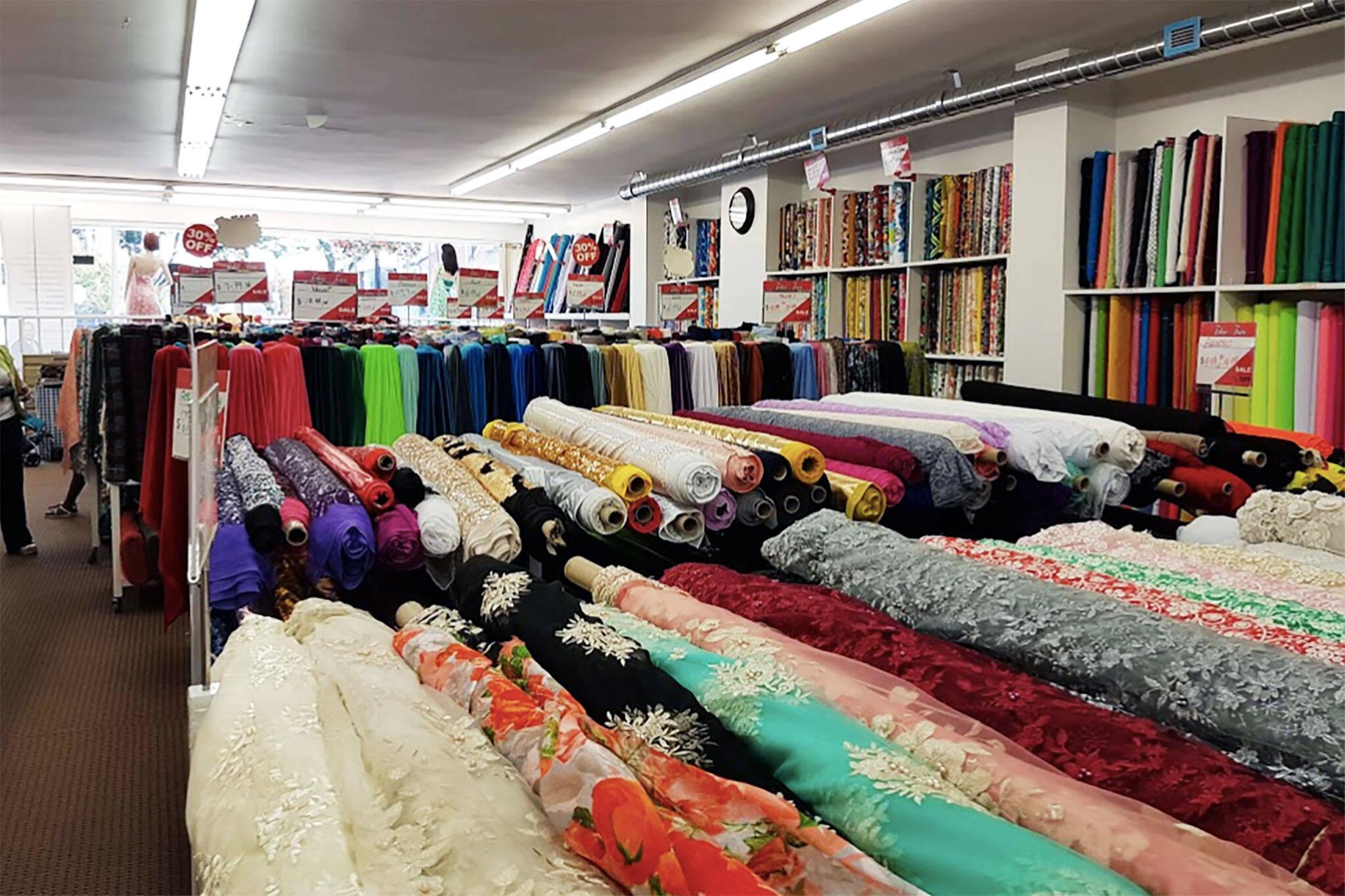 fabric town toronto
