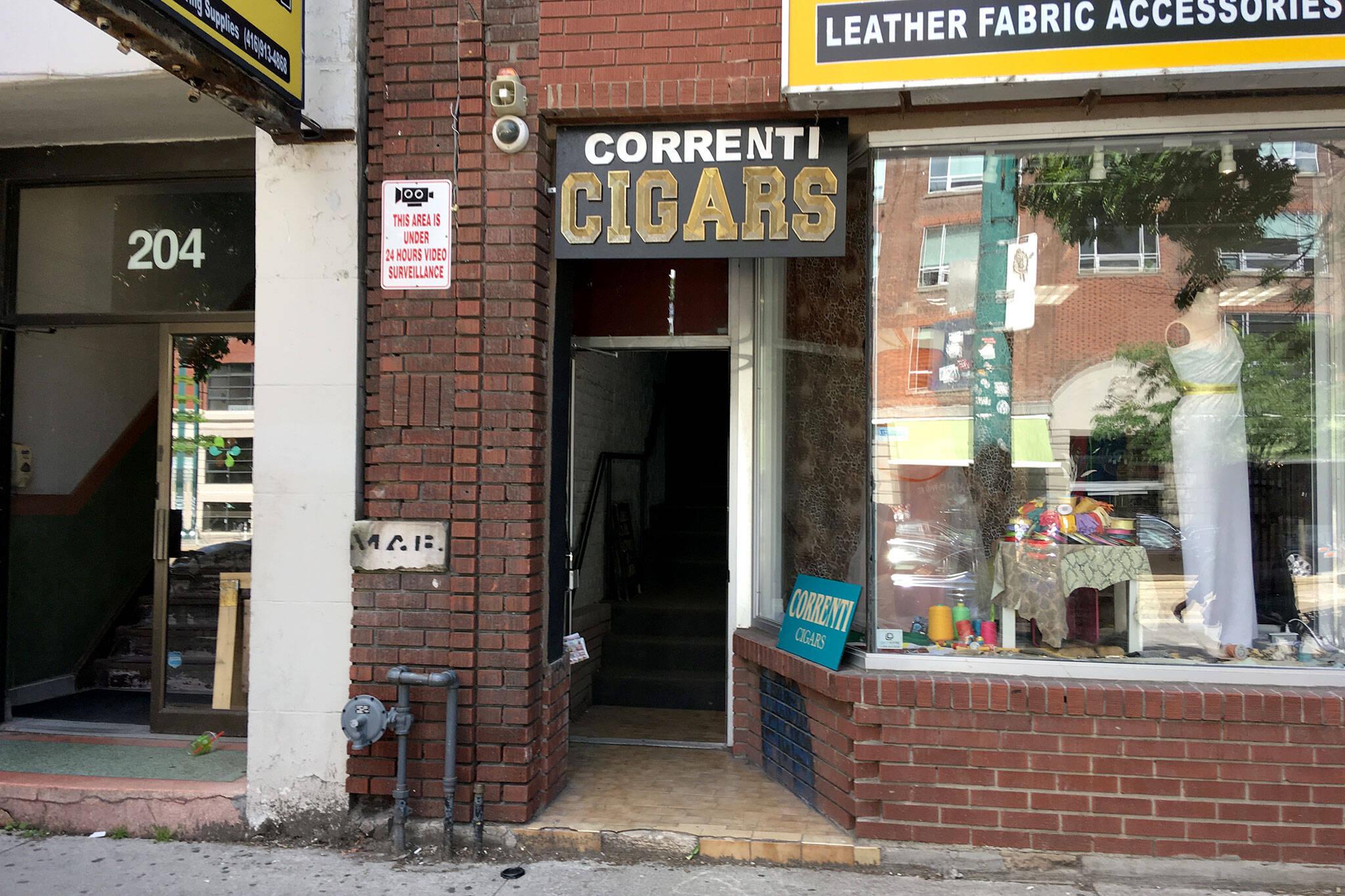 Correnti Cigars Toronto