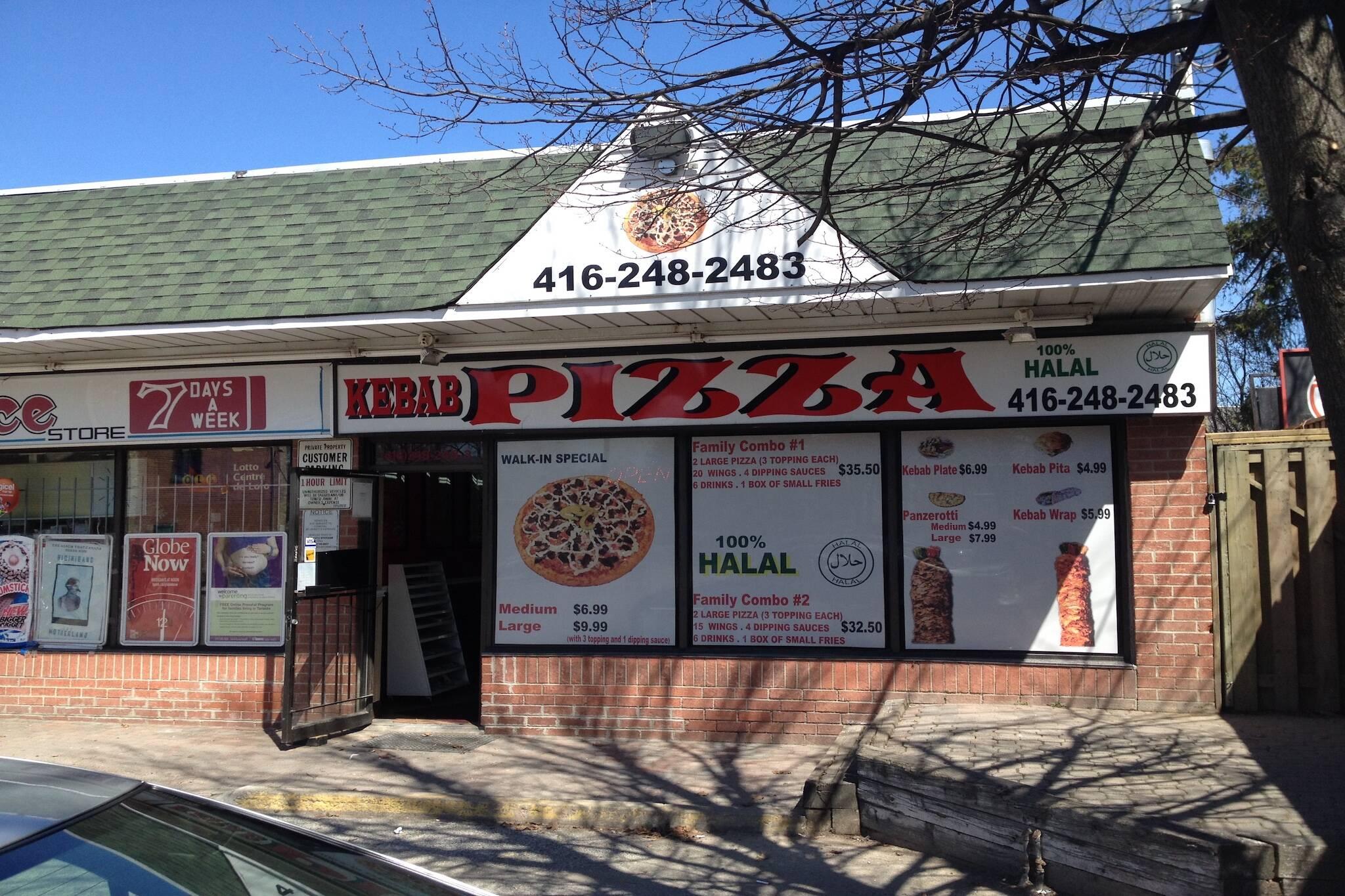 Halal Kebab Pizza Toronto
