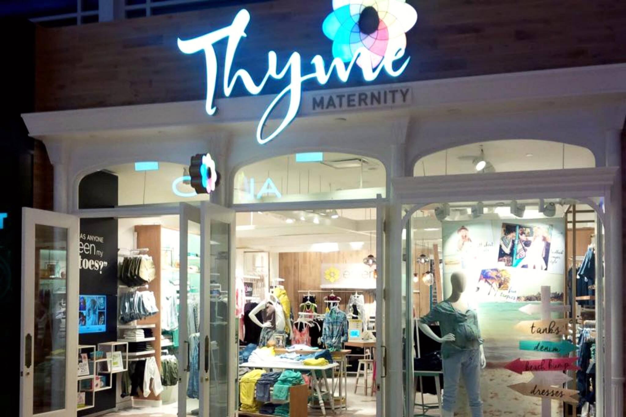 thyme maternity toronto