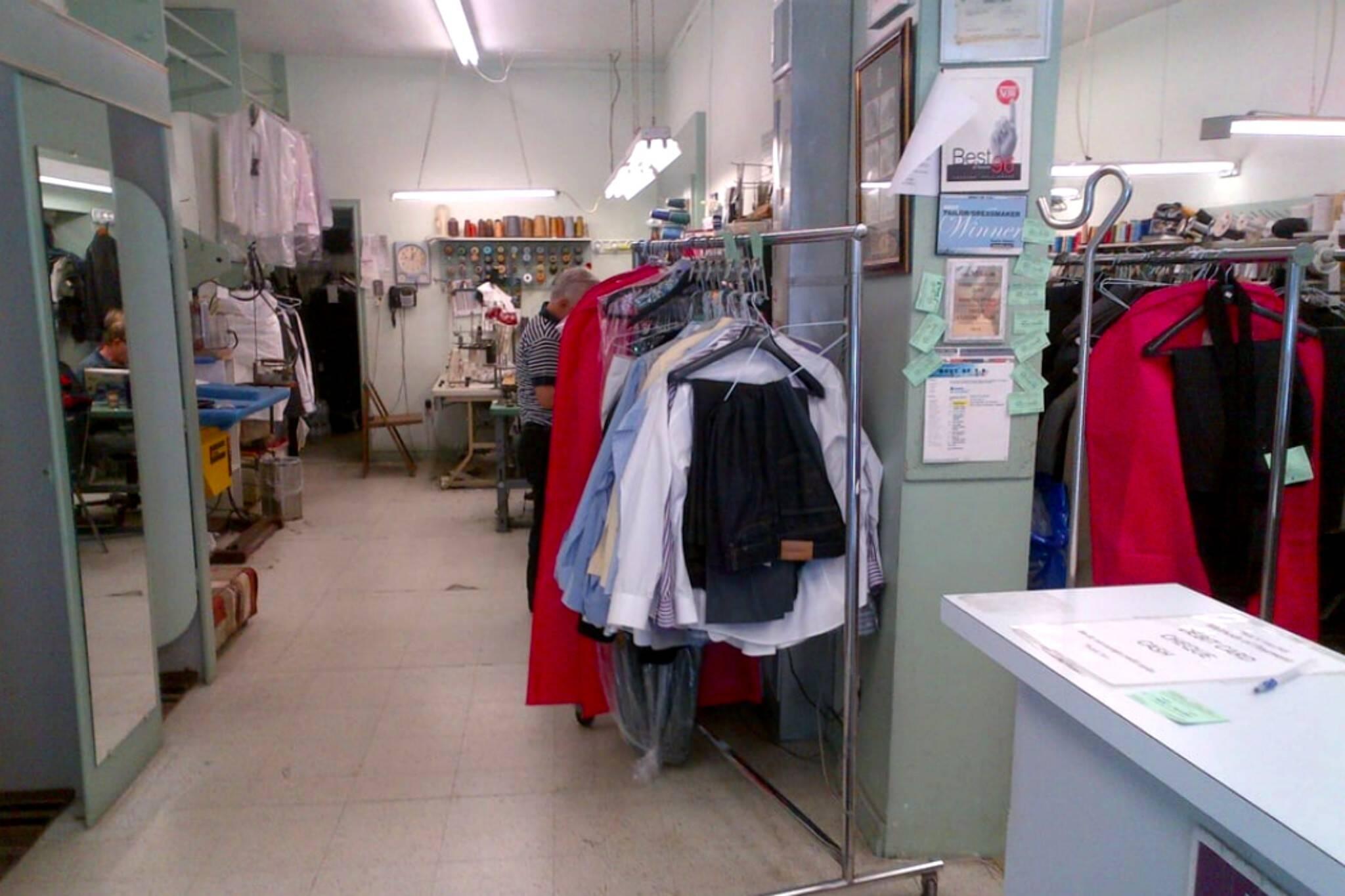 pauls tailors toronto