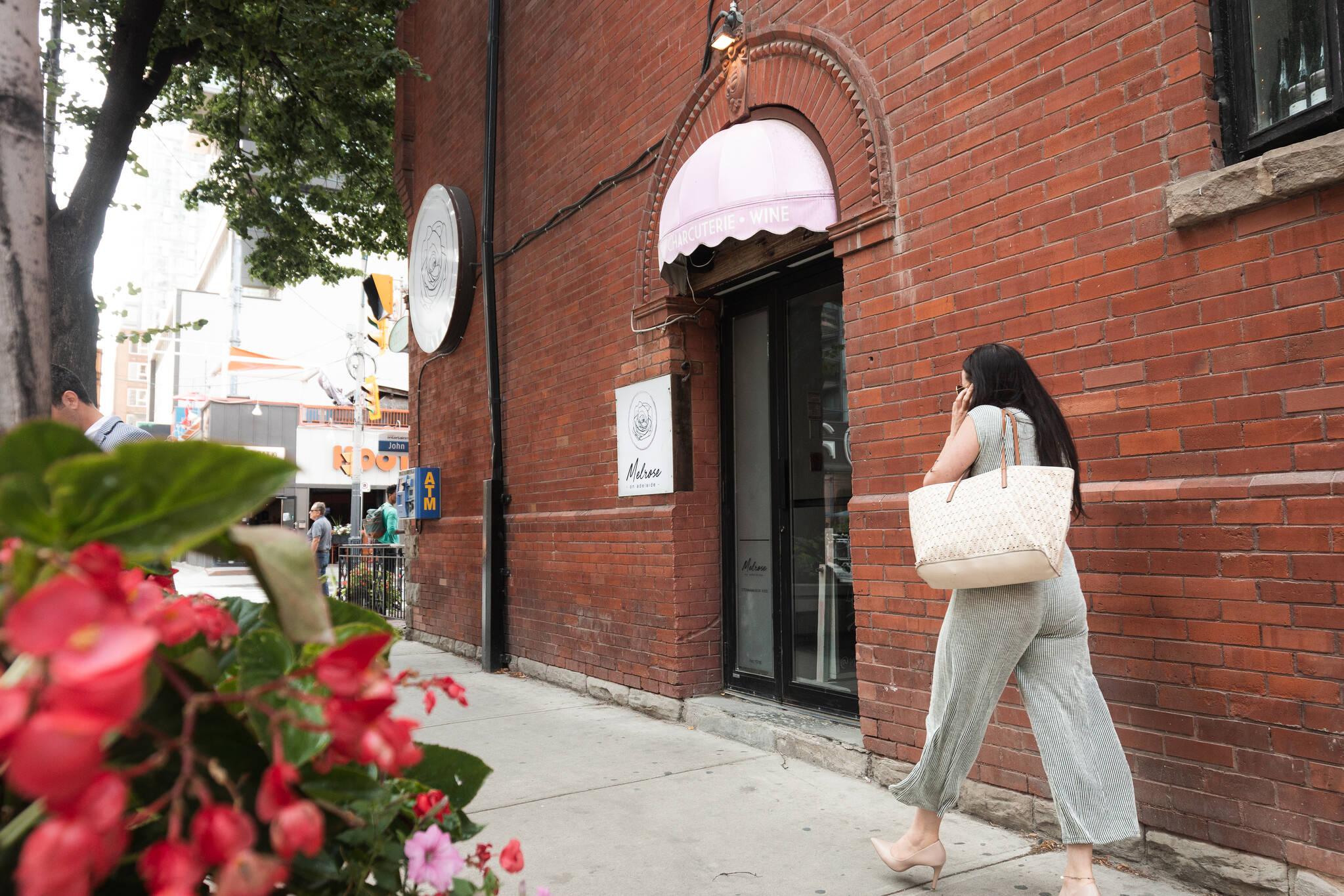Melrose On Adelaide Toronto