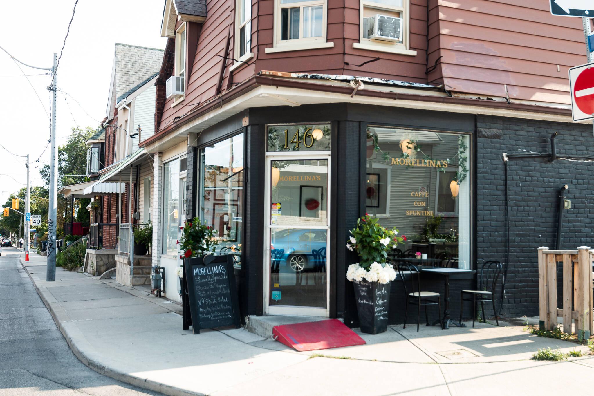 Morellinas Cafe Toronto