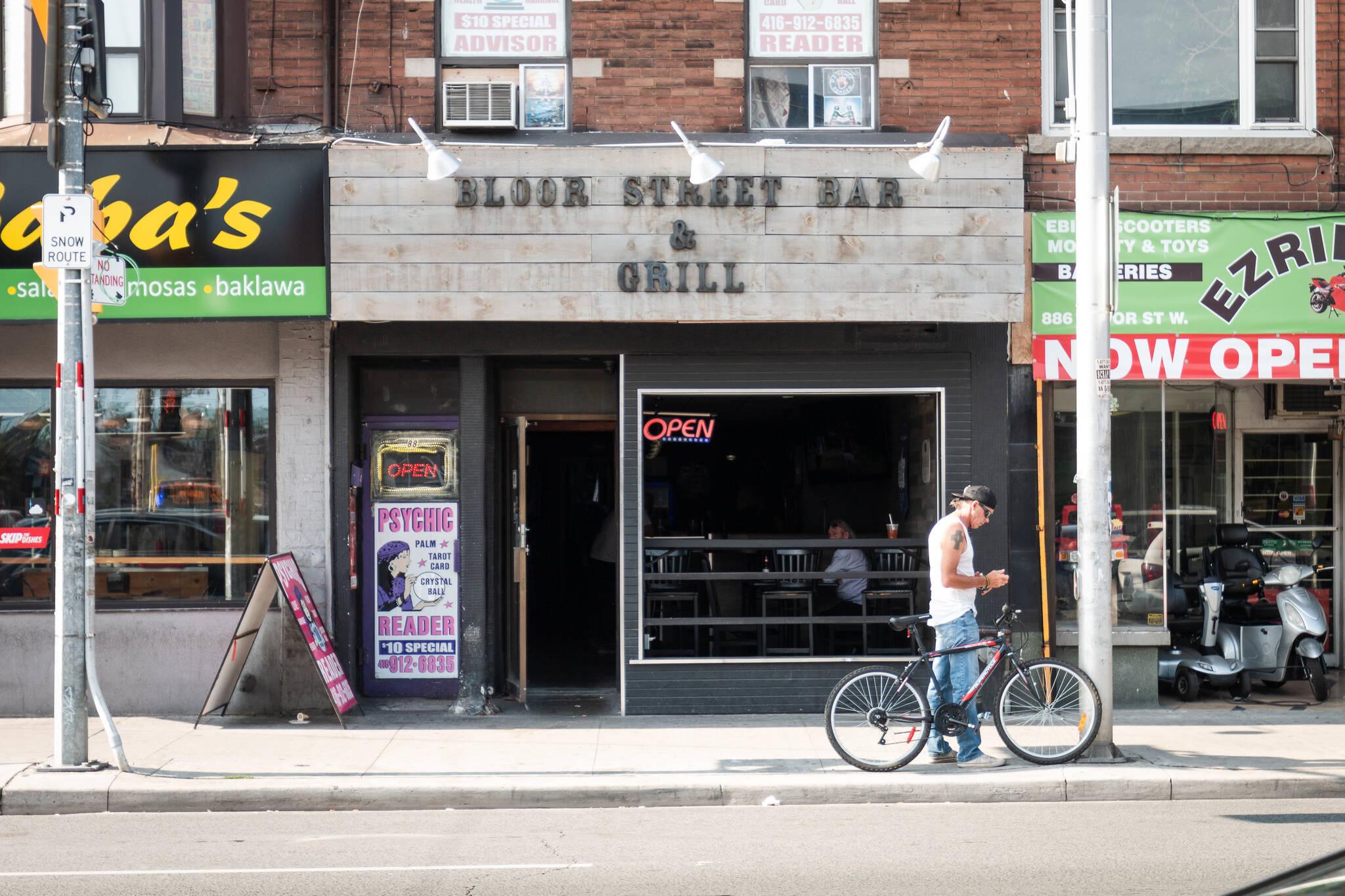 Bloor Street Bar Grill Toronto