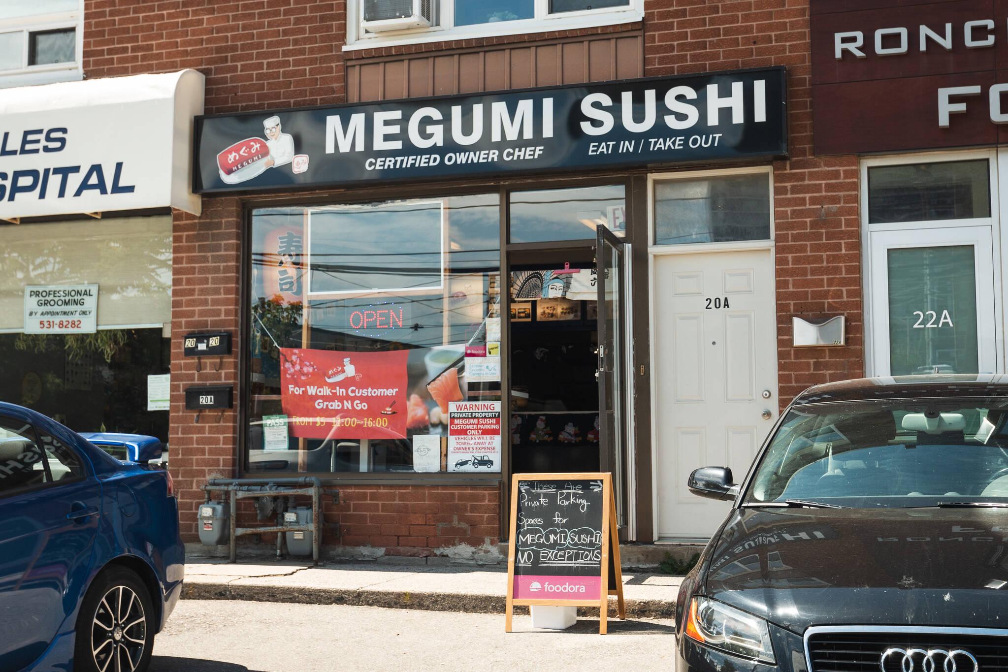 Megumi Sushi Toronto