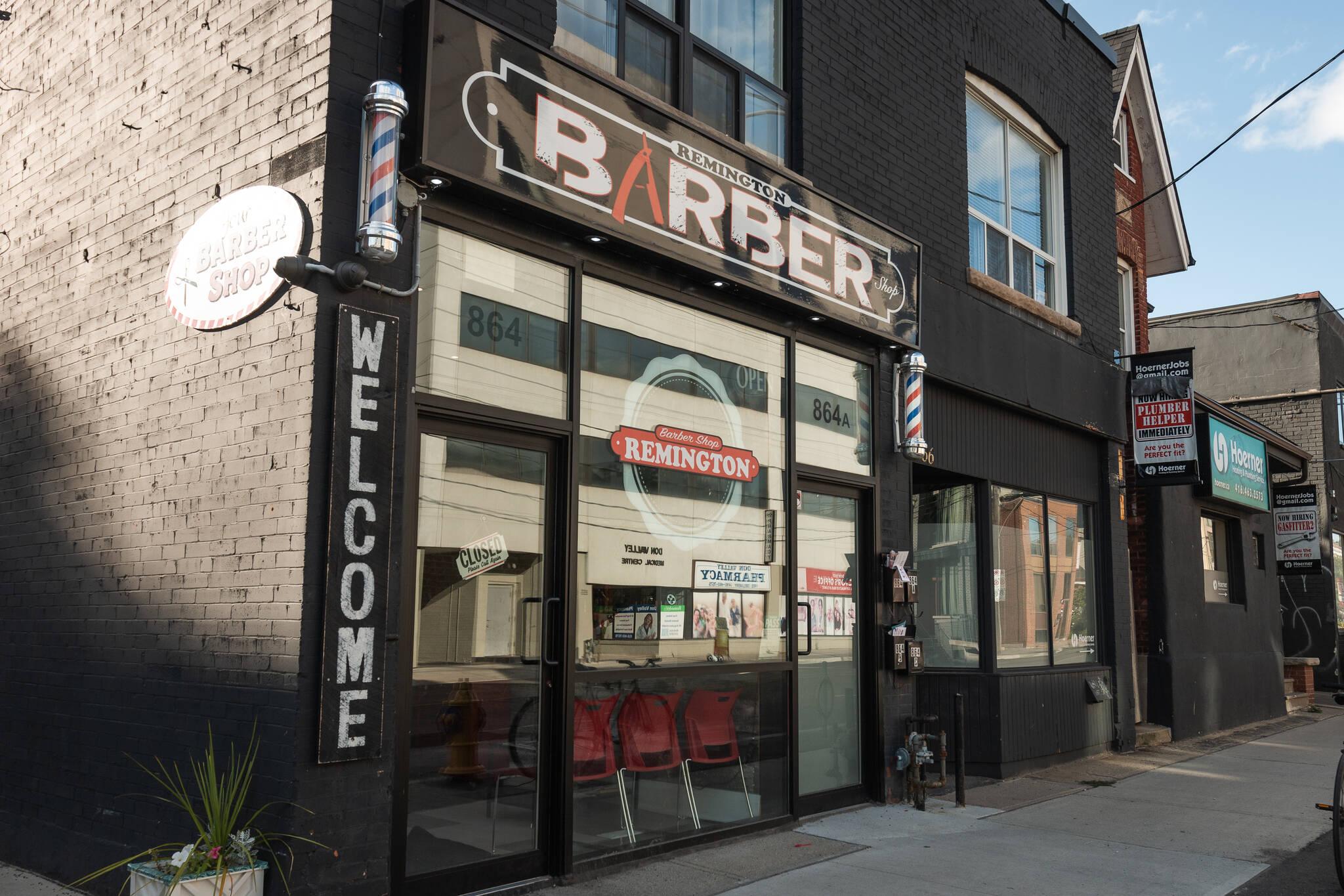 Remington Barber Toronto