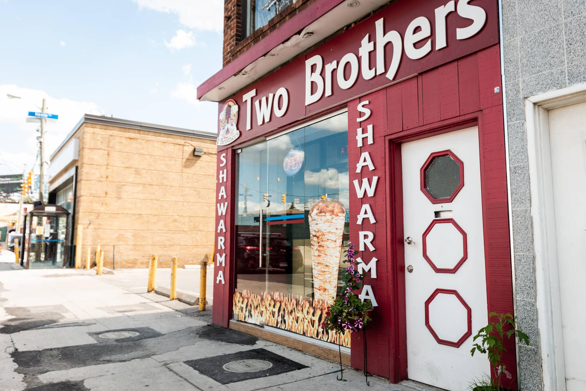 Two Brothers Shawarma Toronto