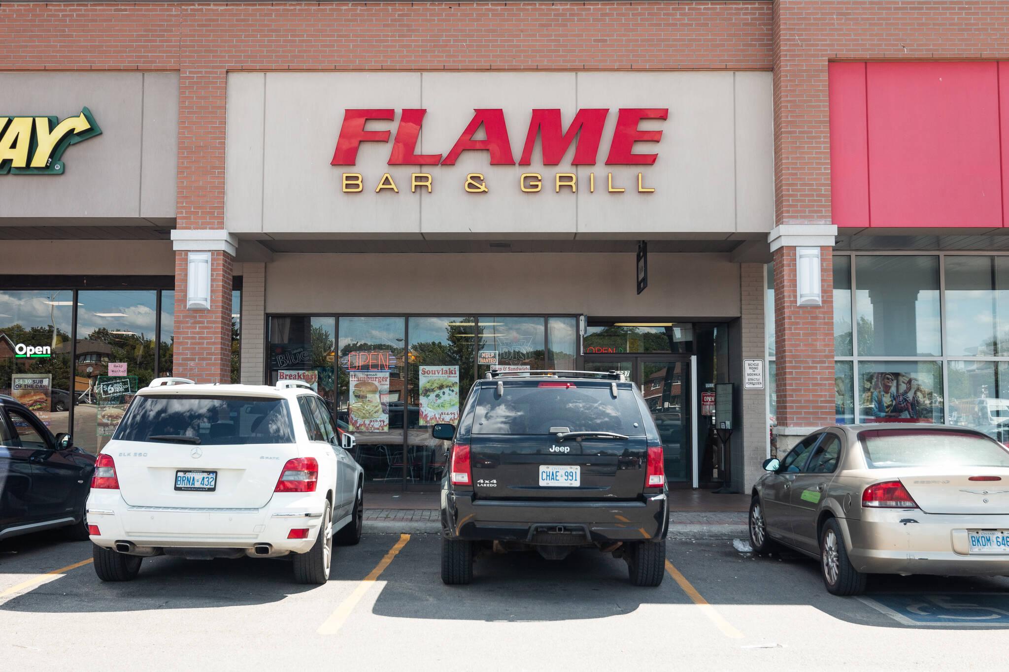 Flame Restaurant Toronto