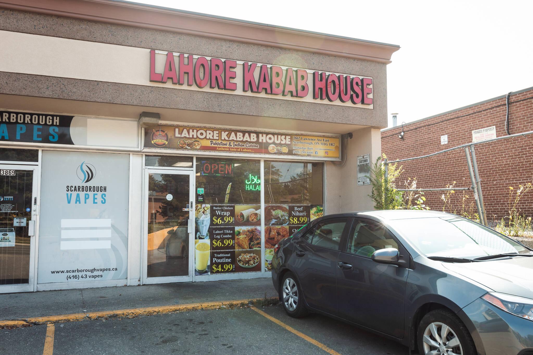 Lahore Kabab House Toronto