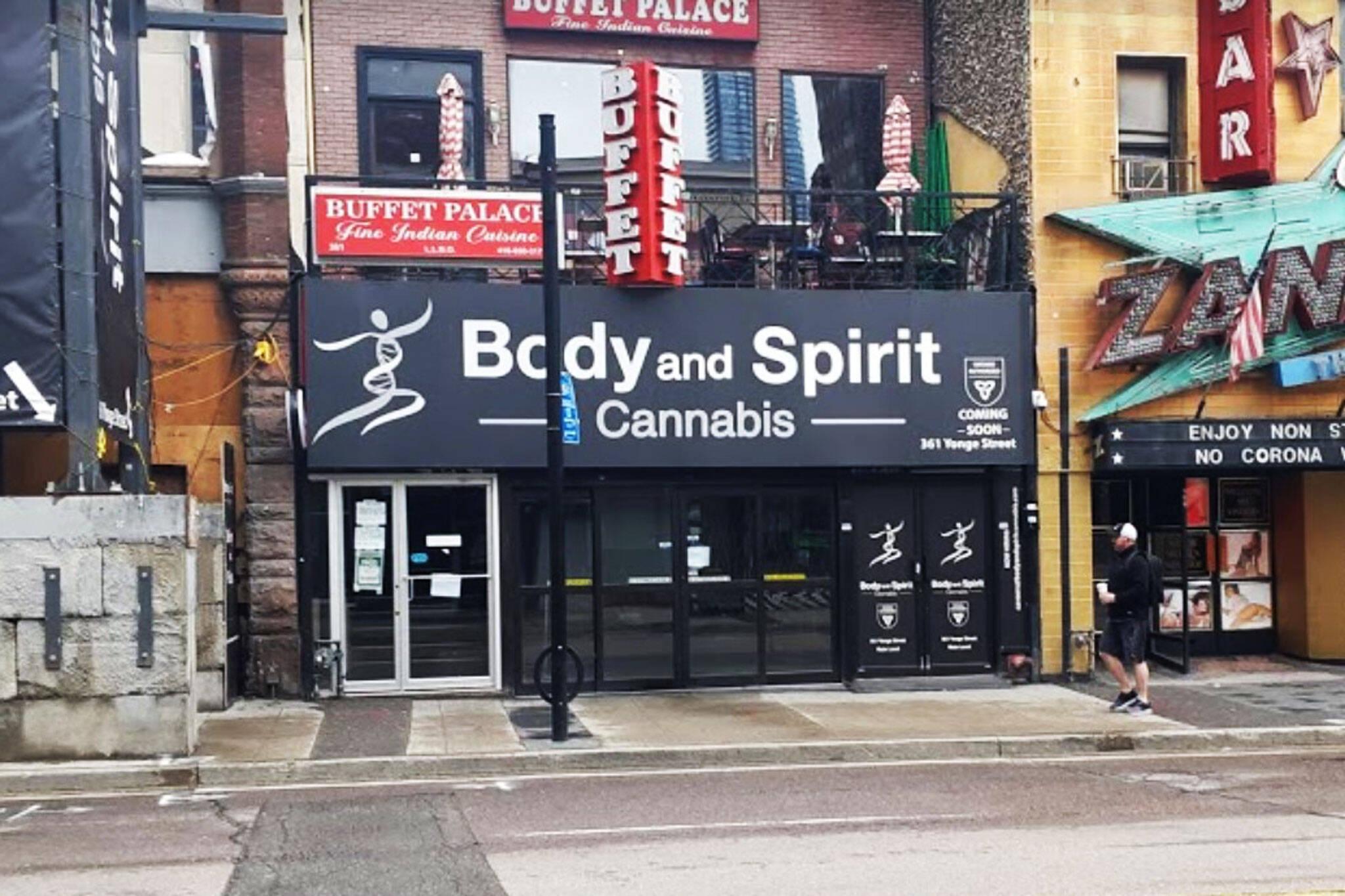 body and spirit cannabis toronto