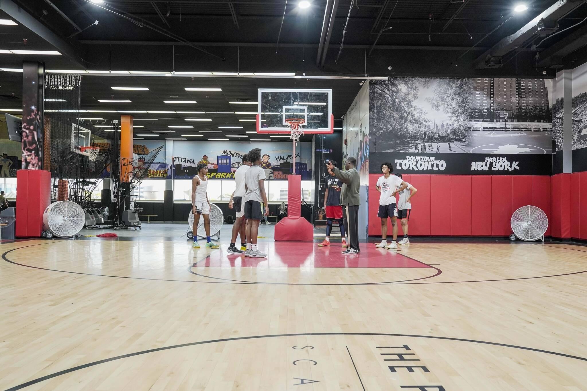 the playground basketball toronto