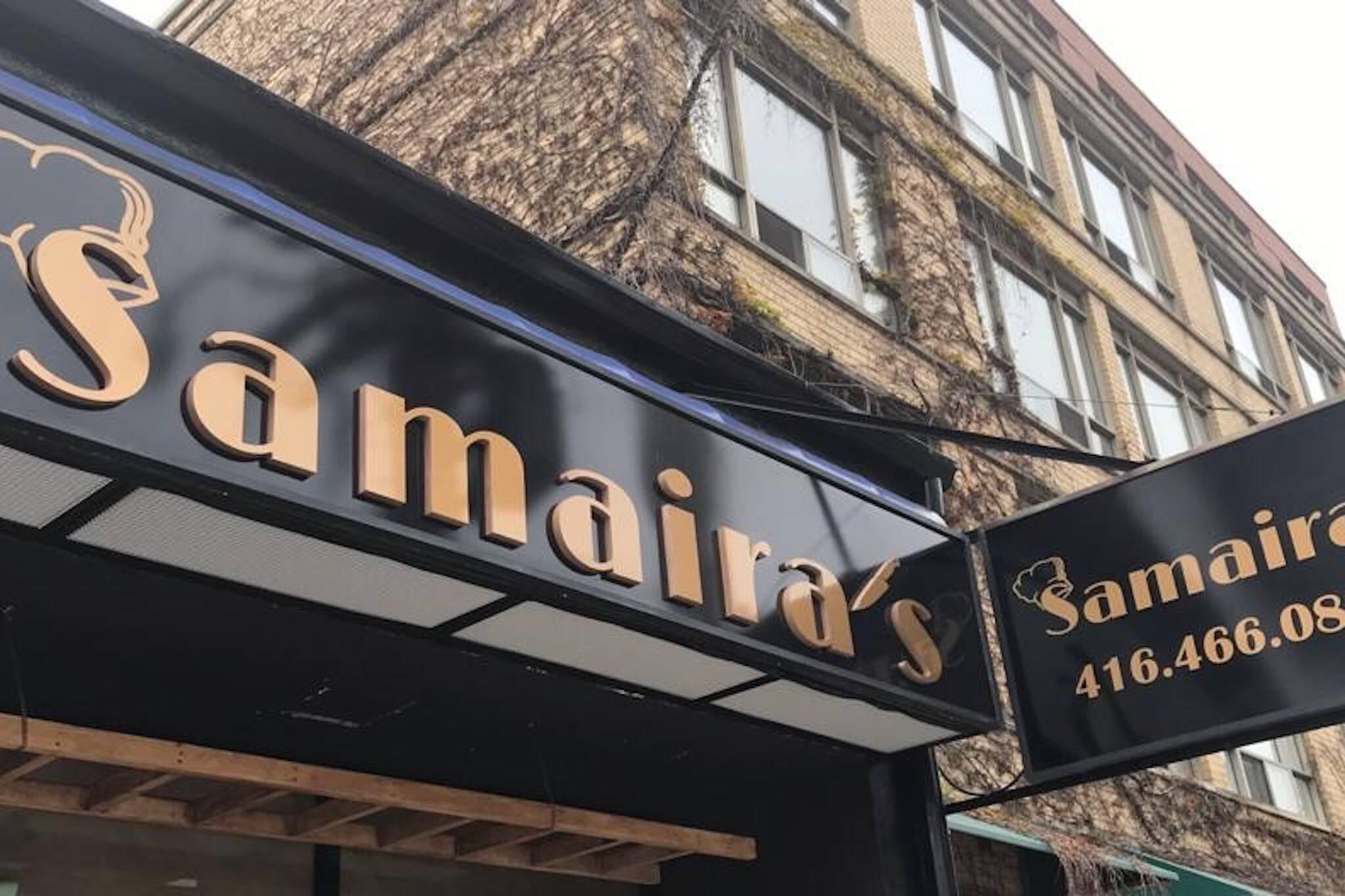 Samairas Toronto