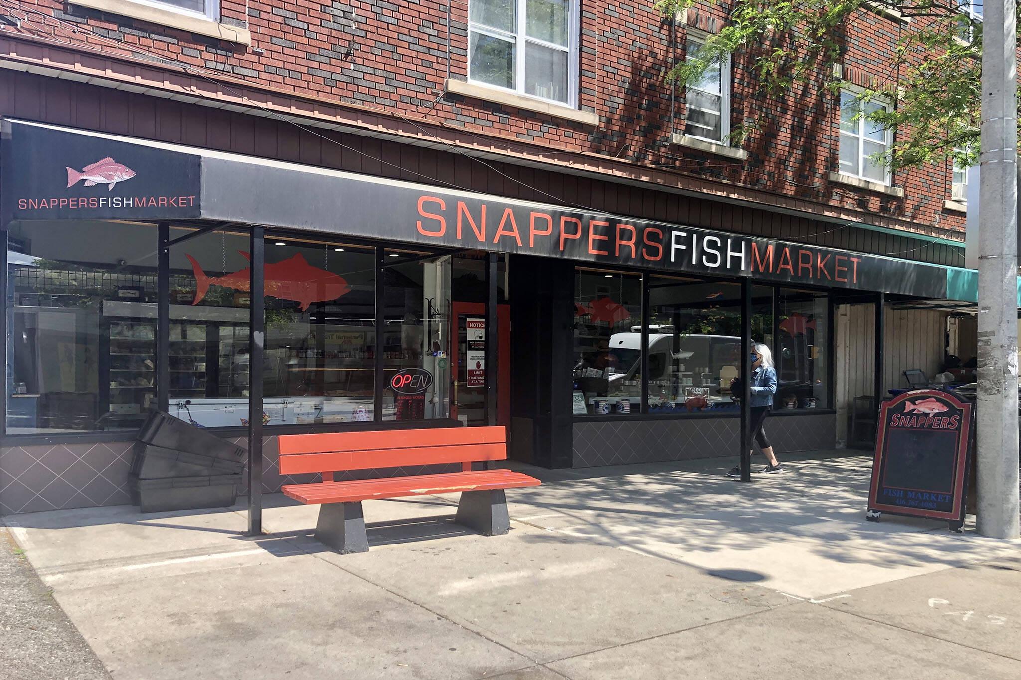 snappers fish market toronto
