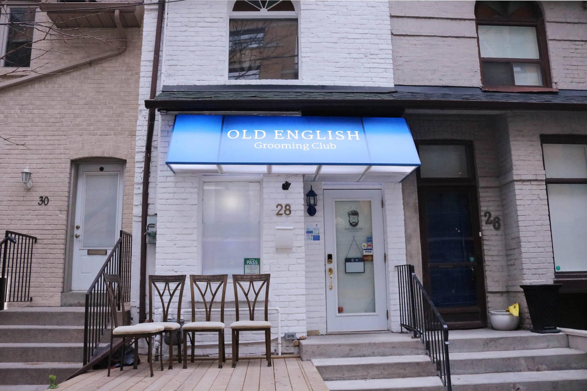 old english grooming club toronto