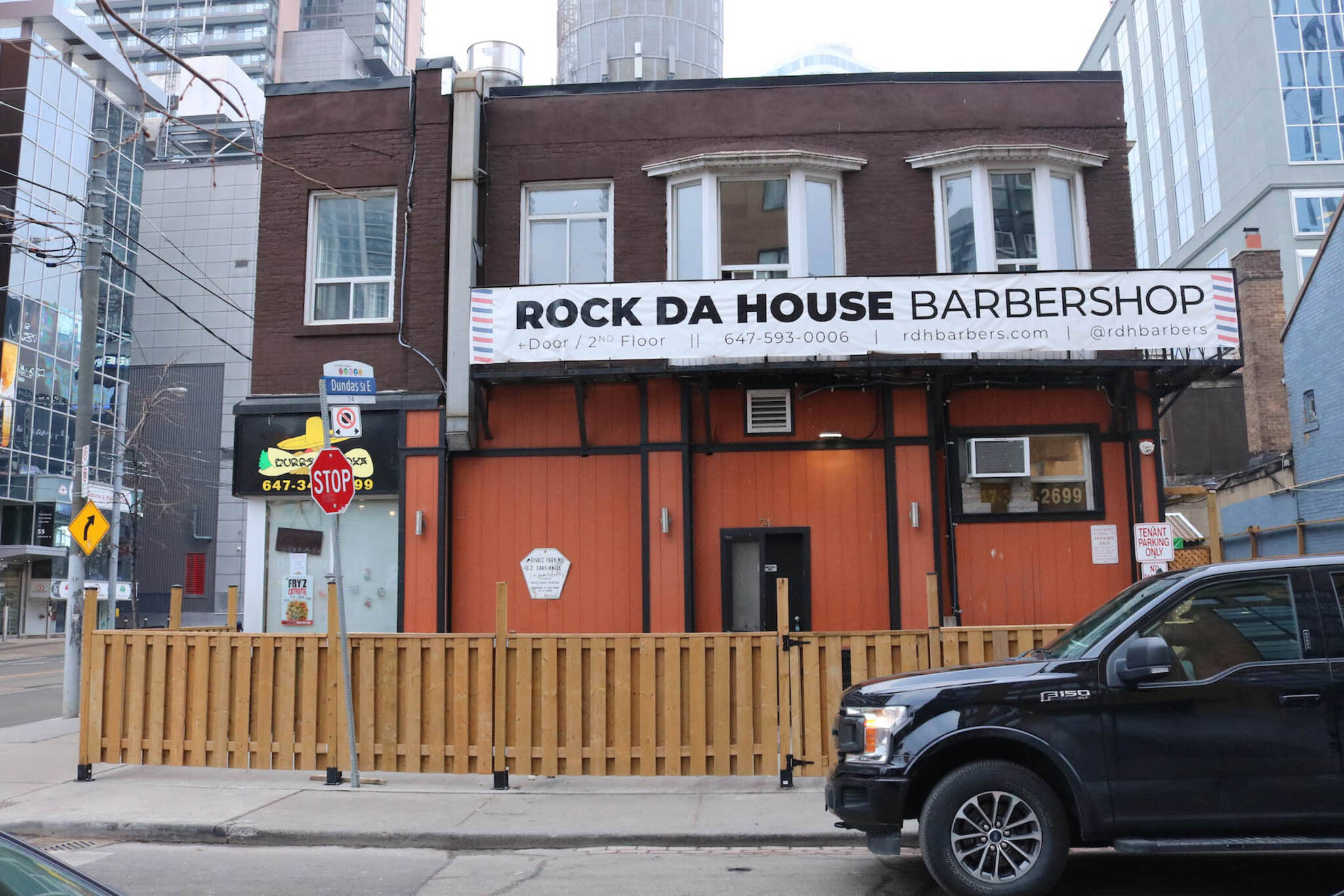 rock da house barber shop toronto