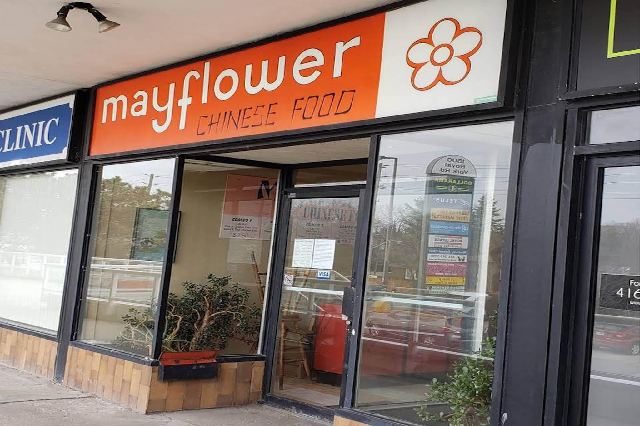 mayflower chinese food toronto