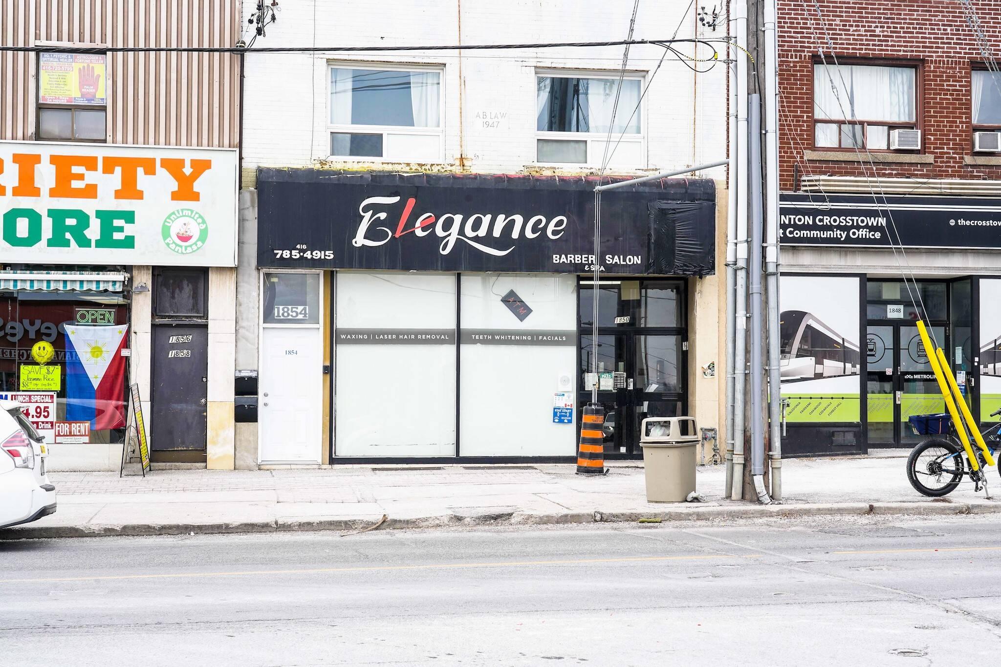 elegance barber salon toronto