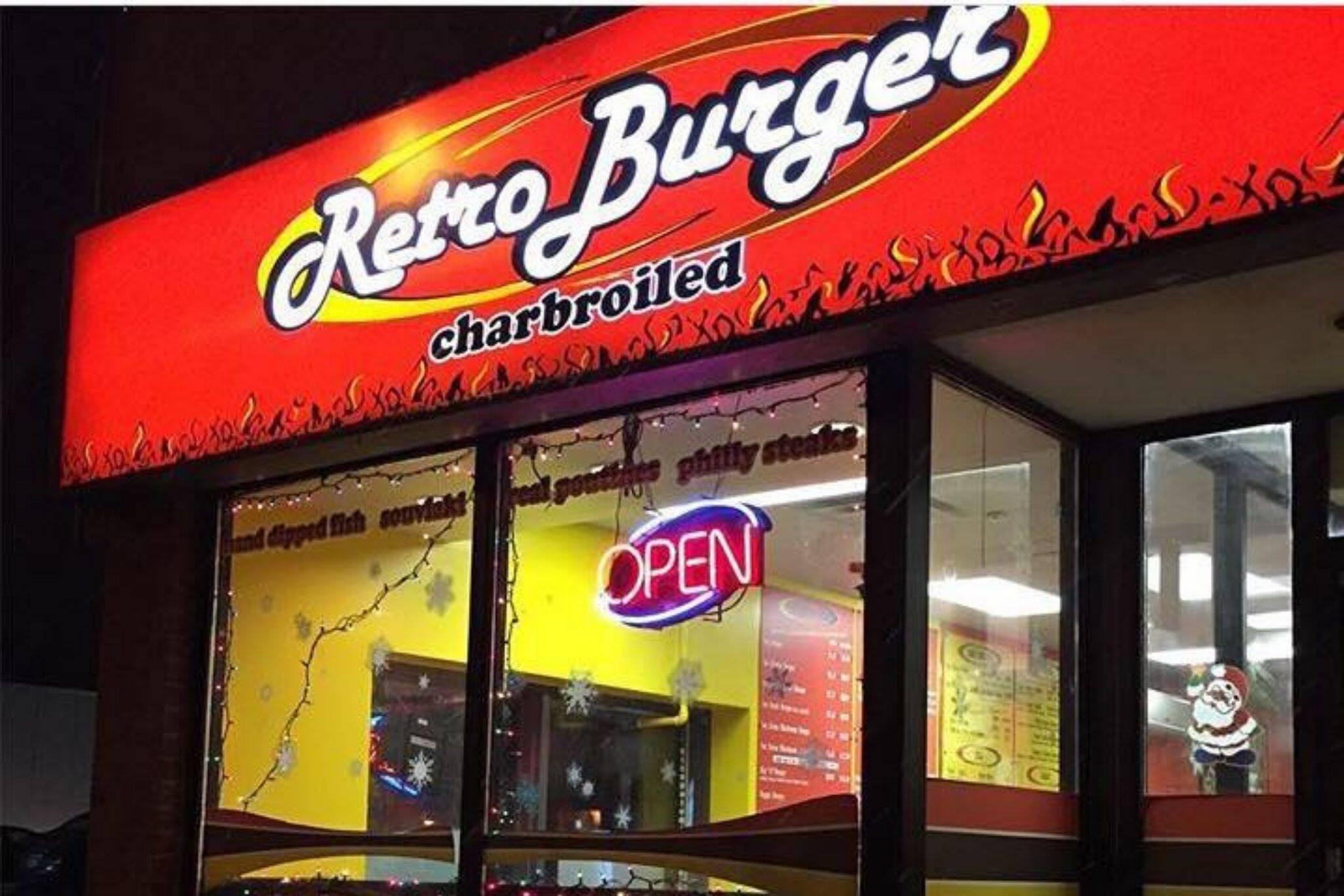 Retro Burger Danforth East Toronto