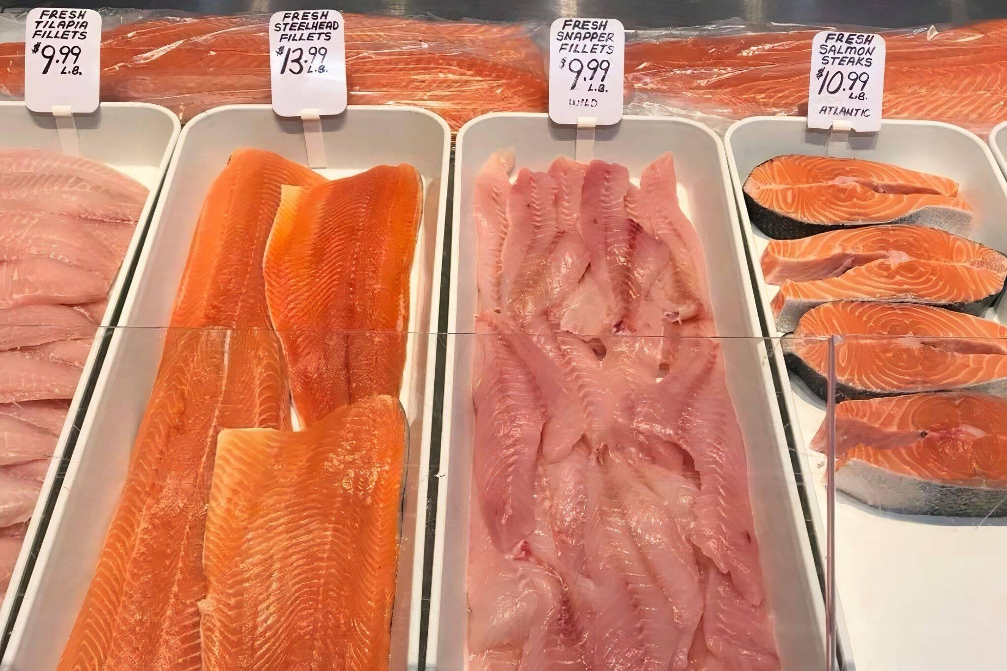 Coral Sea Fish Market Toronto
