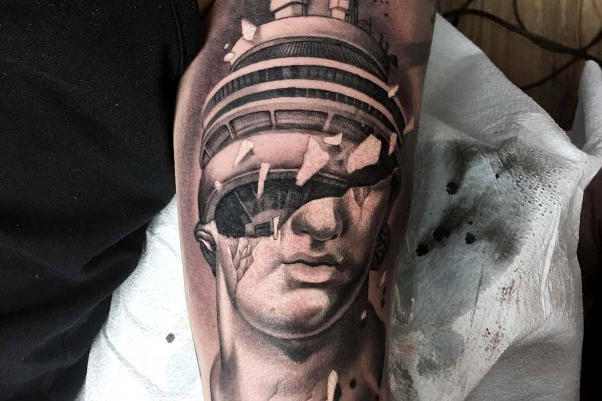 red9ine tattoo company toronto