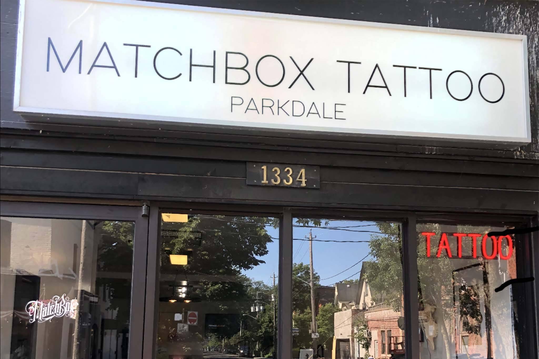 matchbox tattoo company toronto