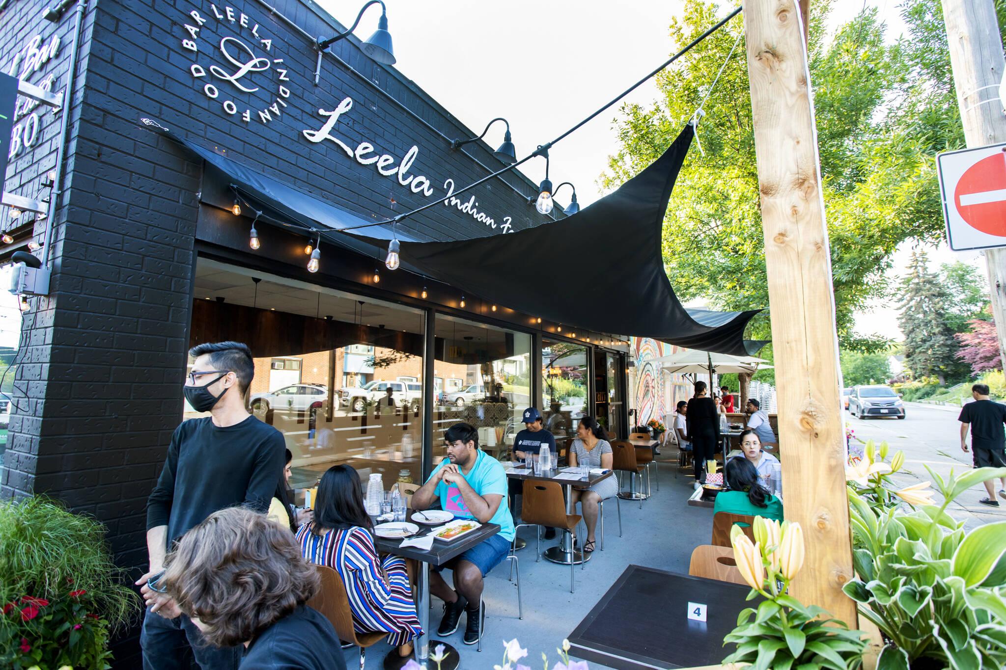 Leela Indian Food Bar Toronto