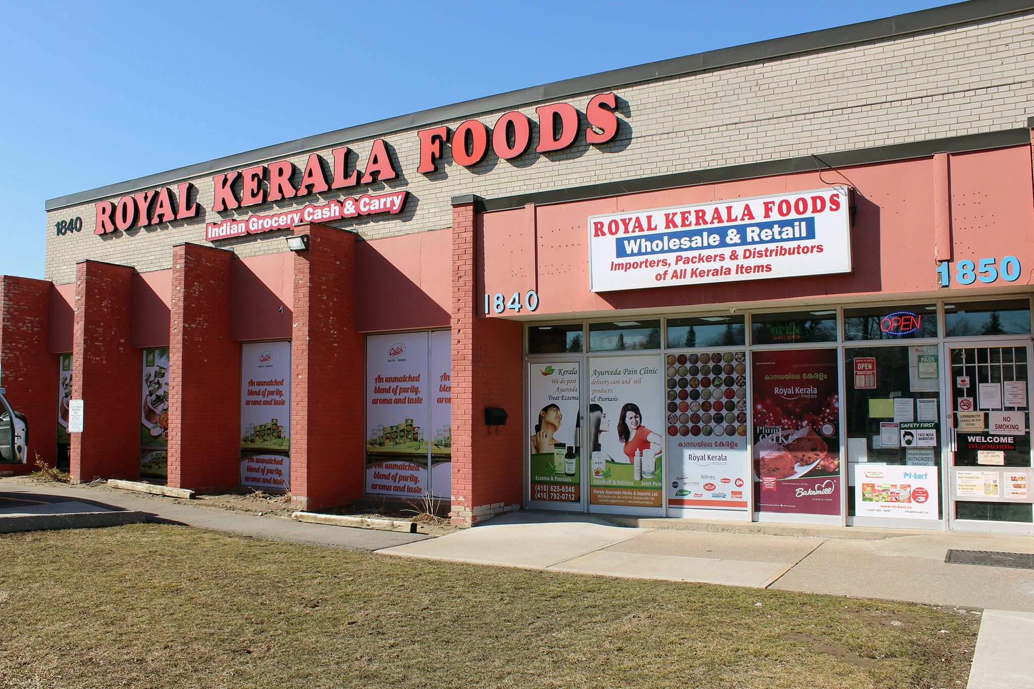 royal kerala foods toronto