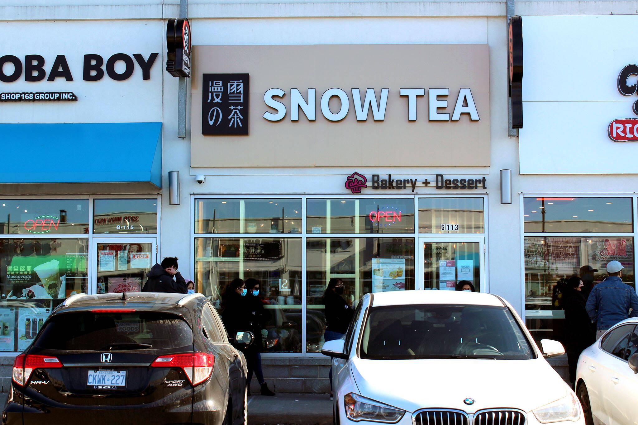 snow tea toronto
