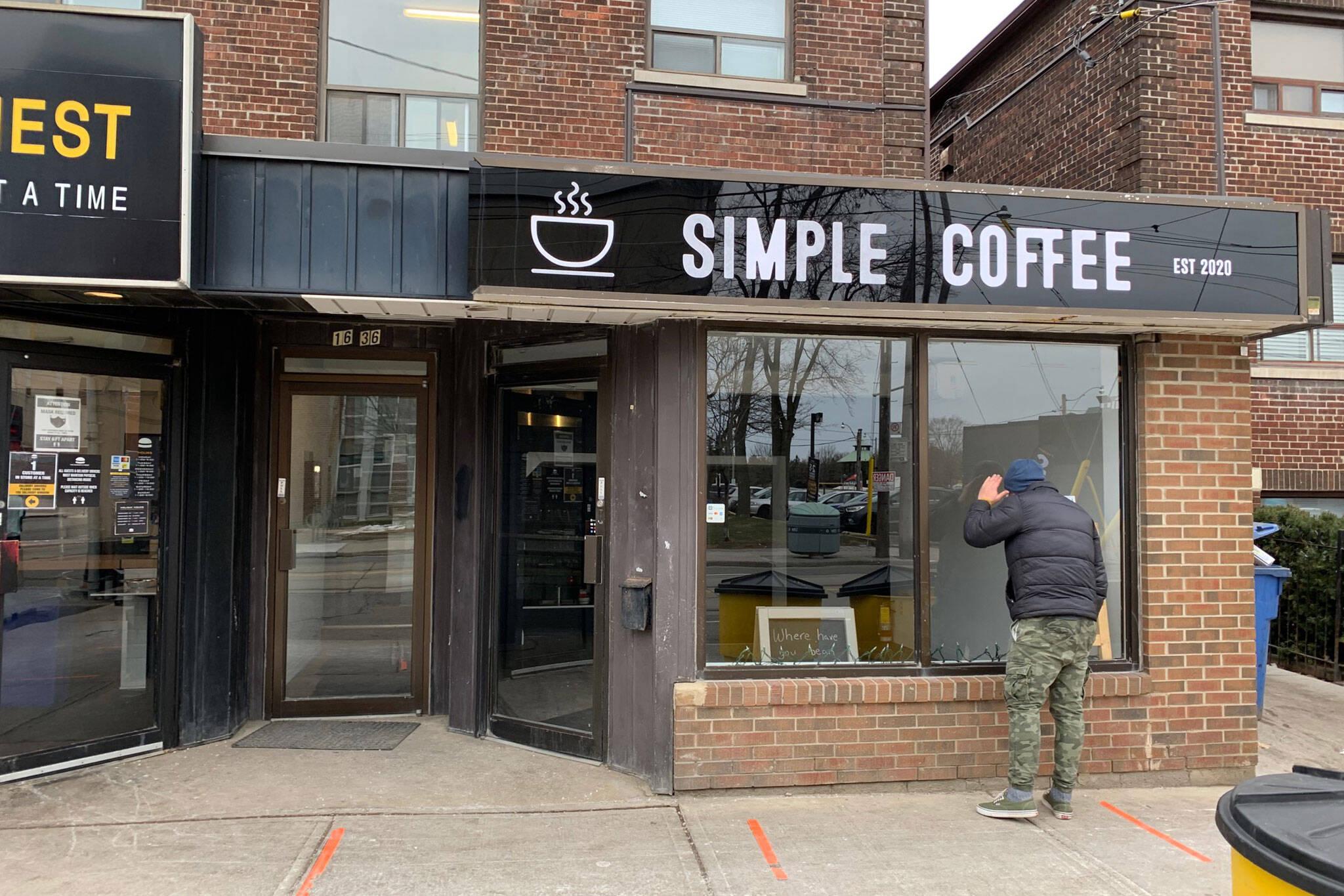 simple coffee toronto
