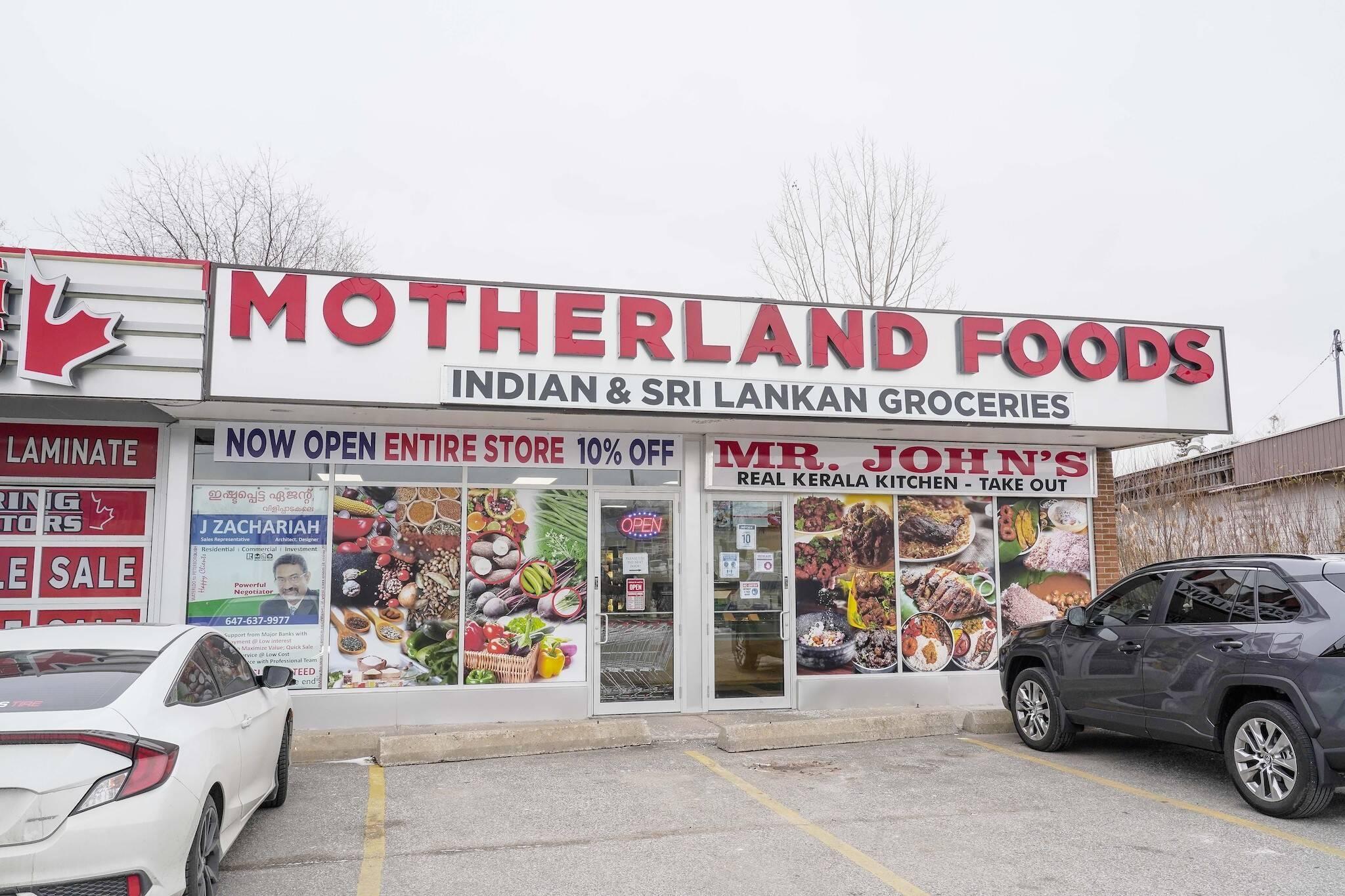 Motherland Foods Toronto