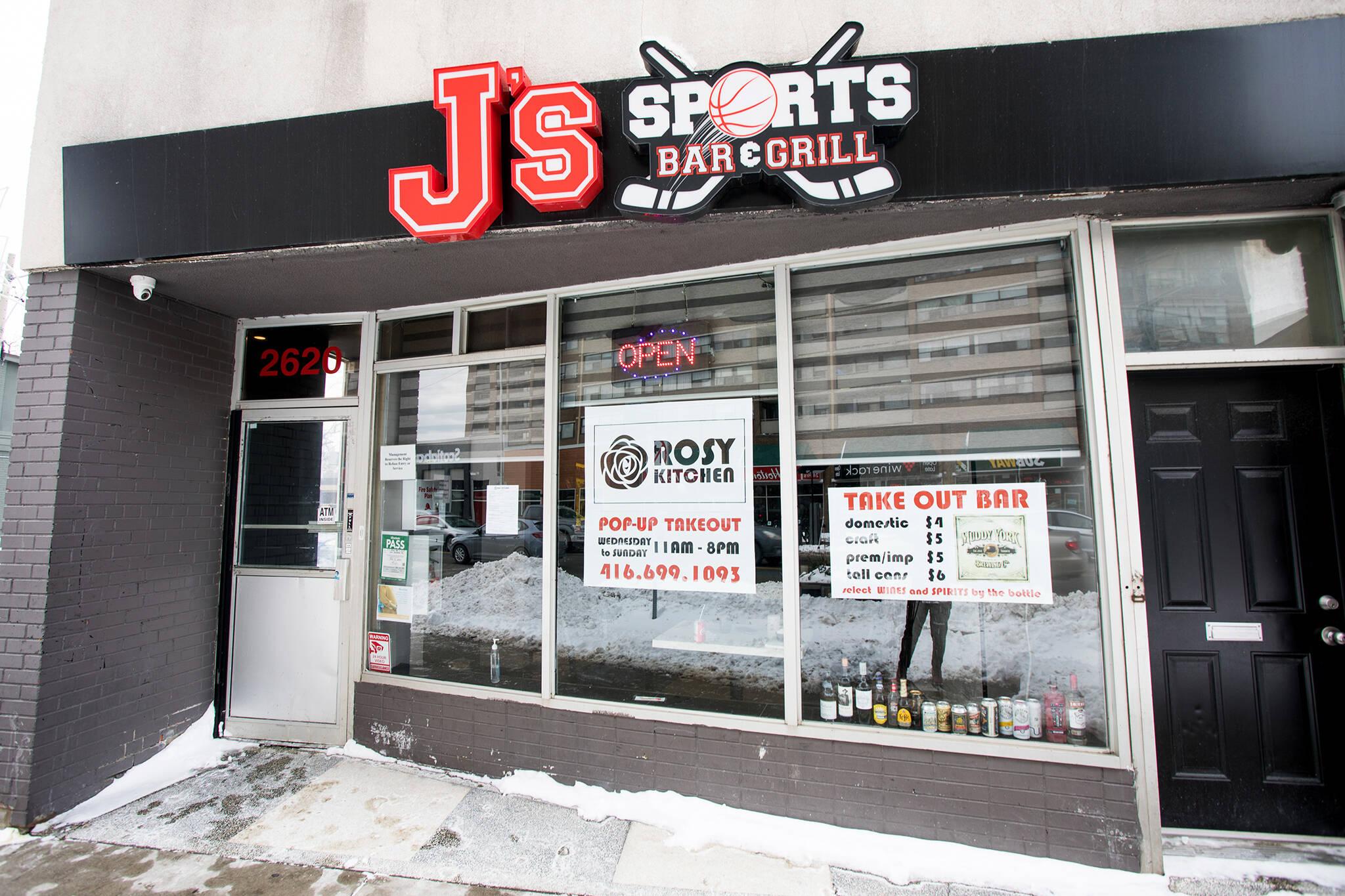 js sports bar grill toronto