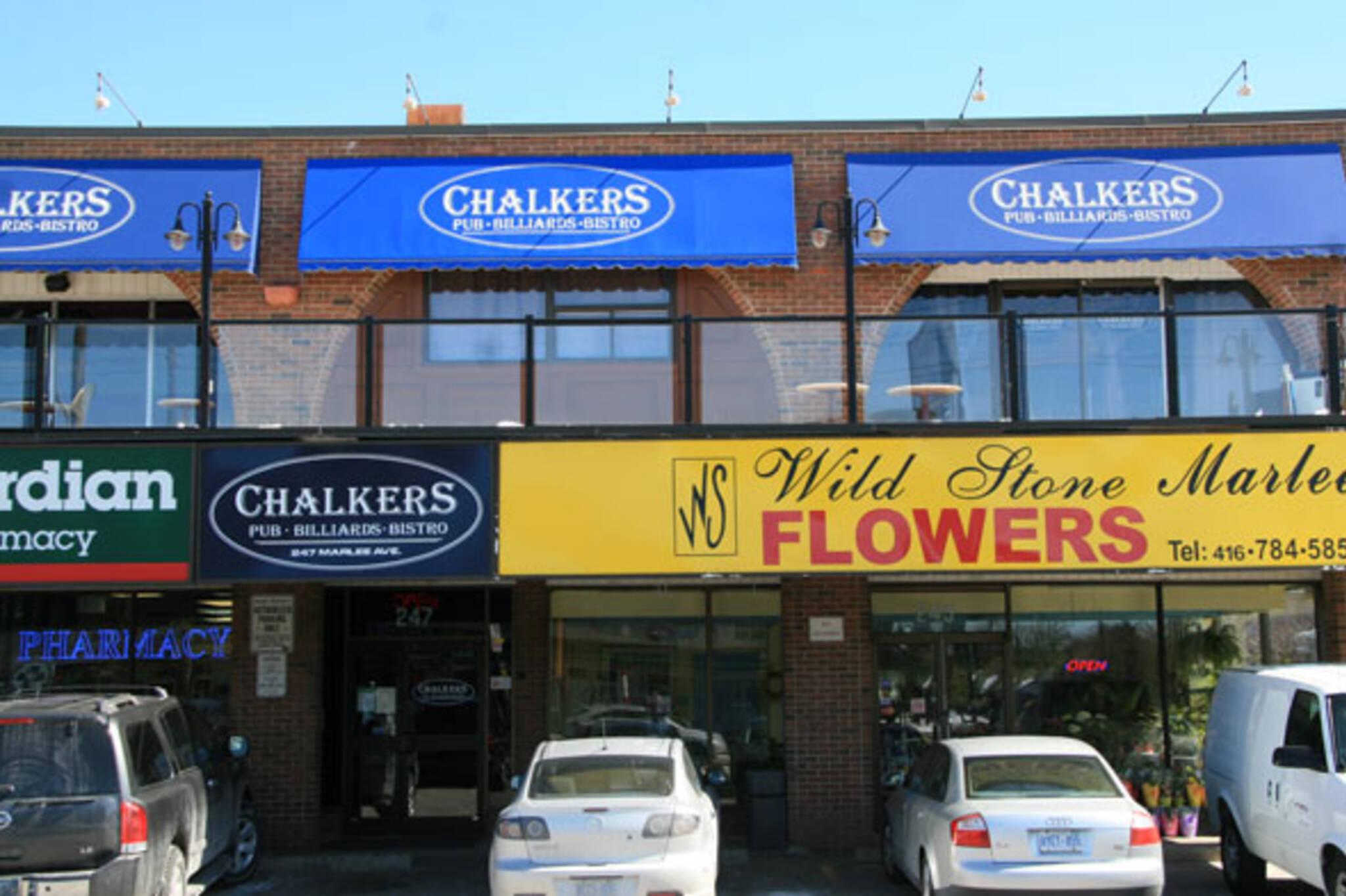 Chalkers Pub Toronto
