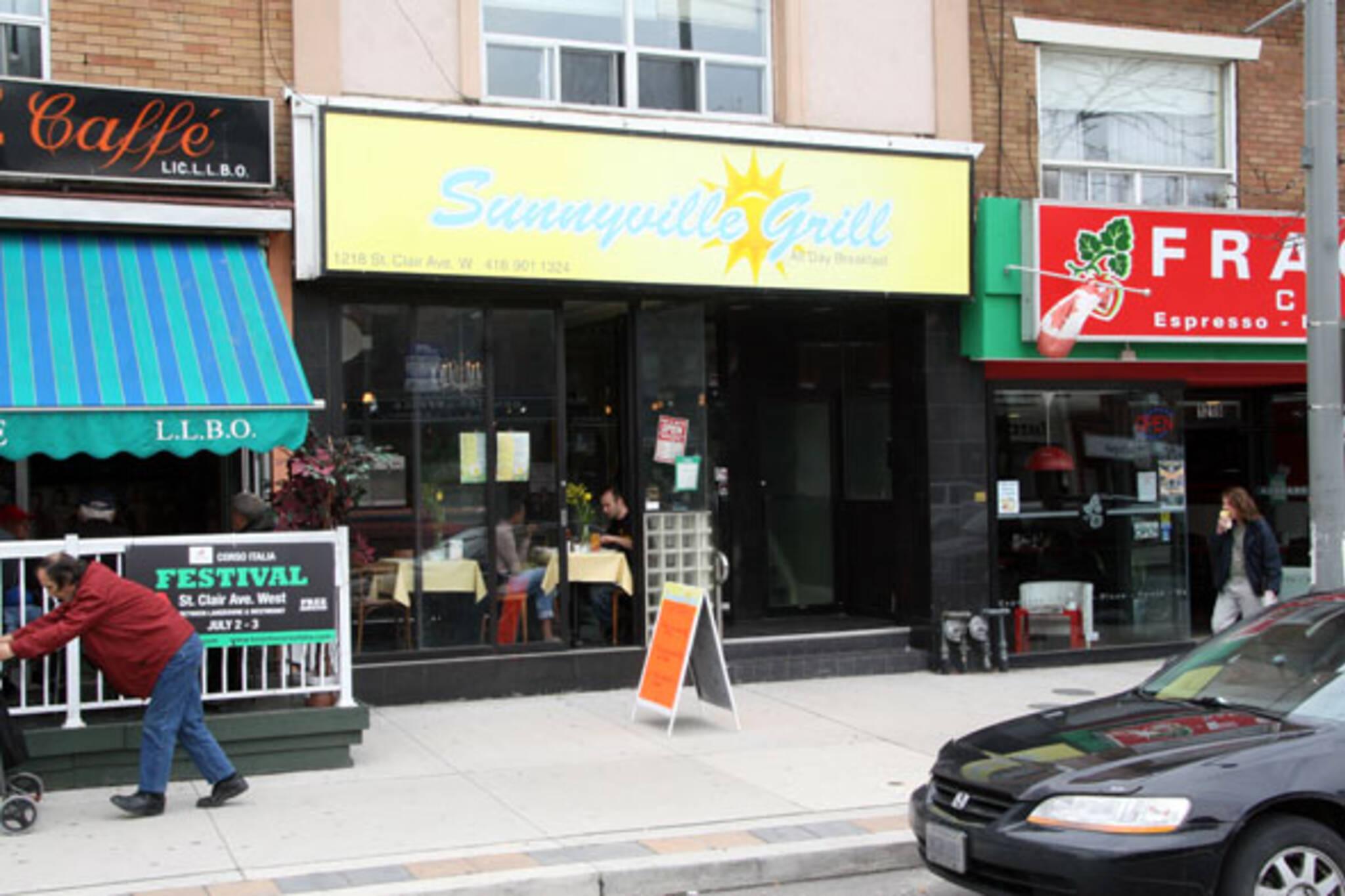 Sunnyville Grill Toronto