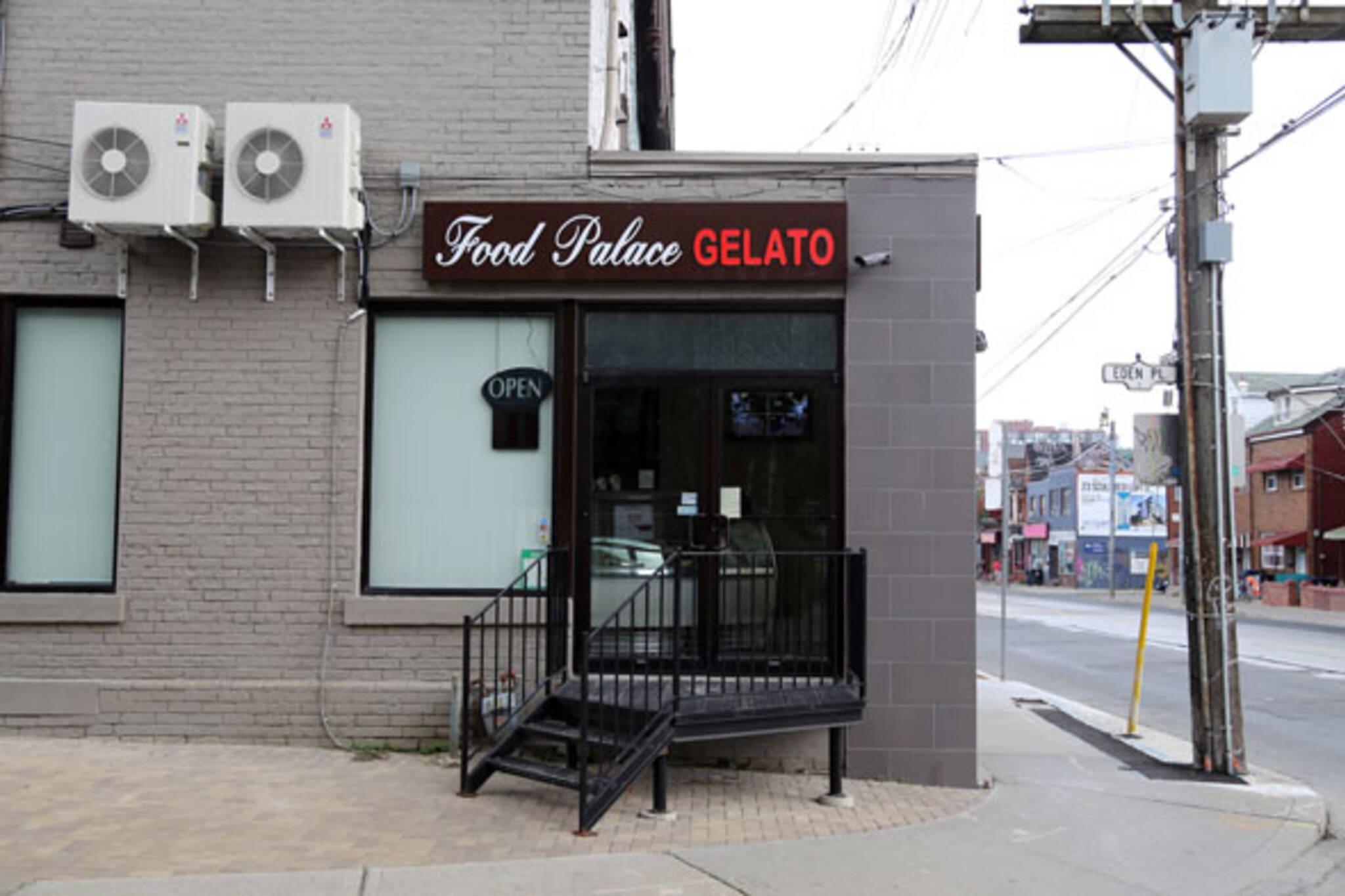 food palace gelato toronto